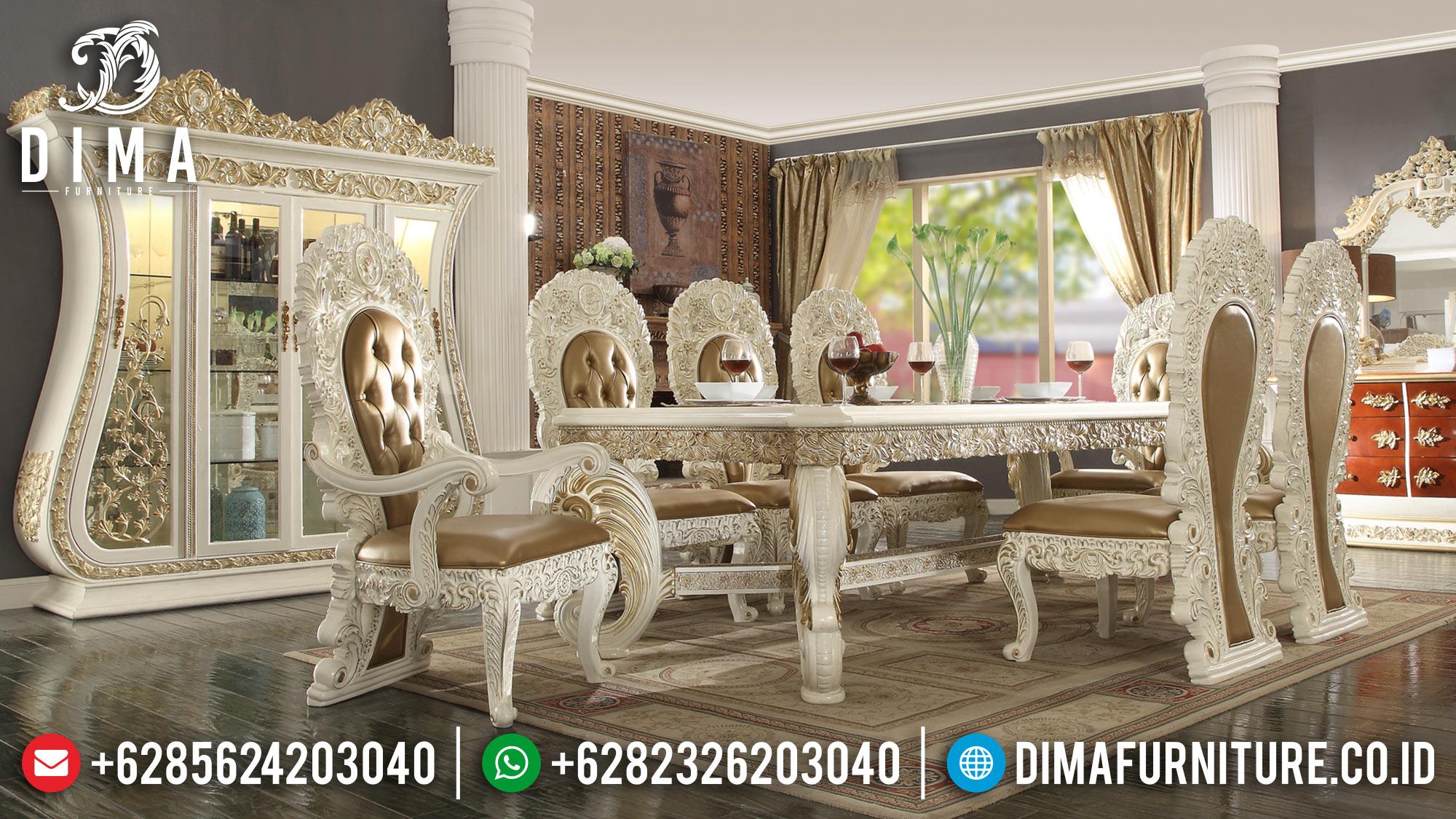 Meja Makan Mewah Jepara Terbaru 2018 18 Dima Furniture Jepara