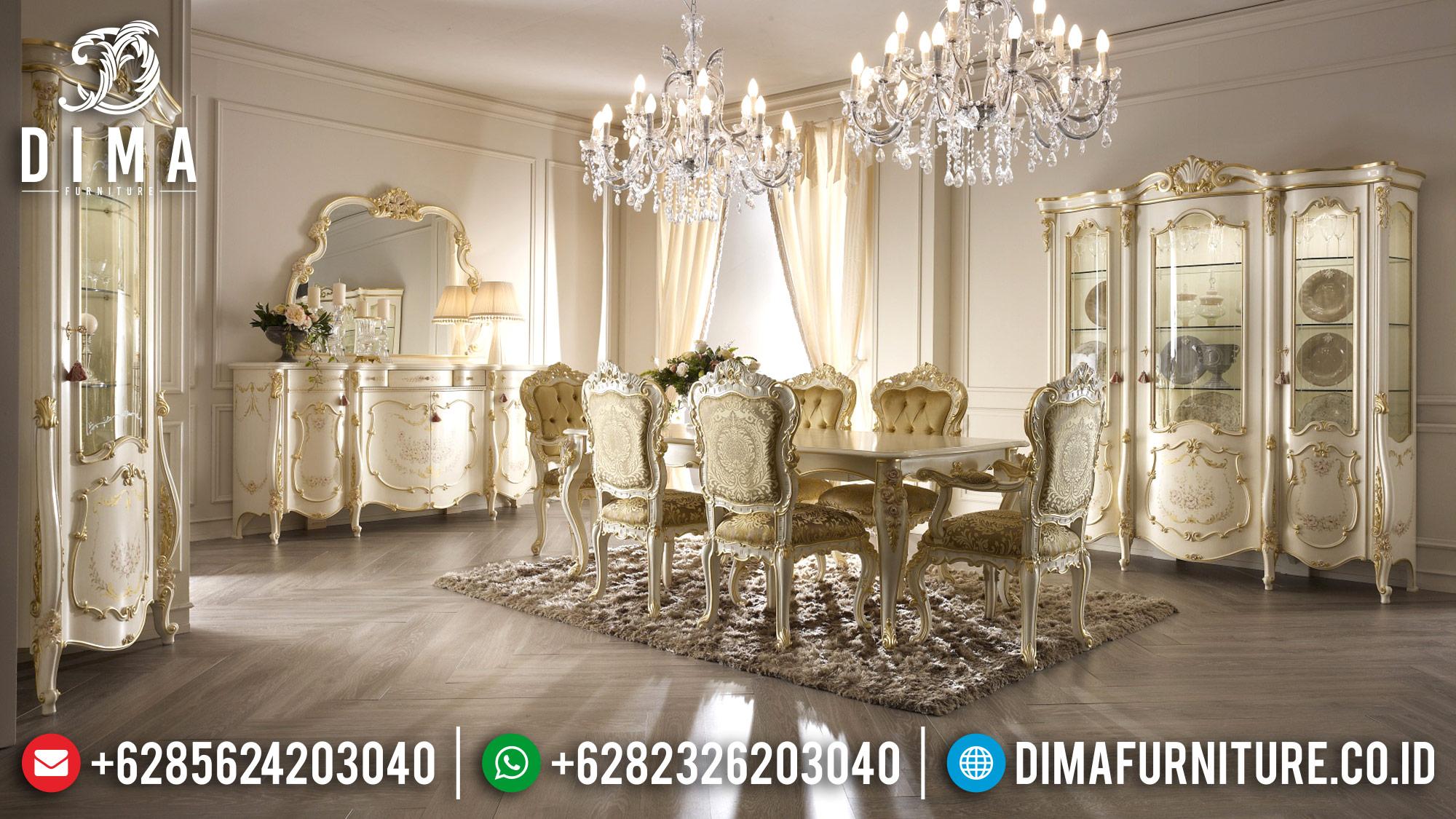 Meja Makan Mewah Jepara Terbaru 2018 20 Dima Furniture Jepara