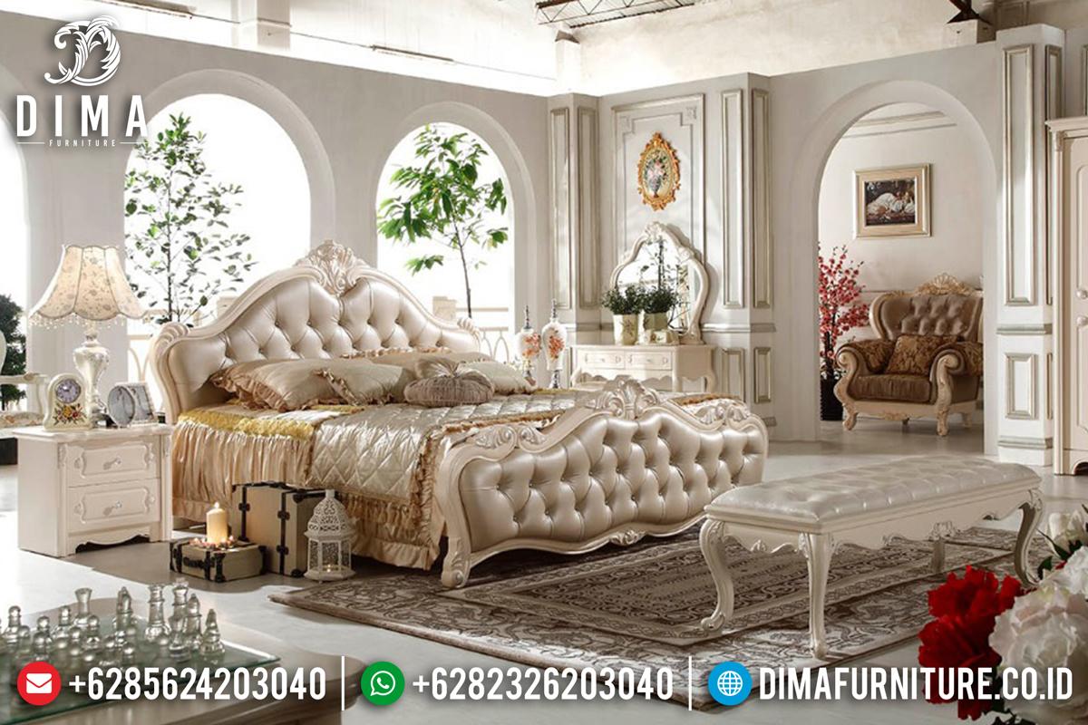 Tempat Tidur Mewah Kamar Set Jepara Terbaru Duco Ivory DF-0559