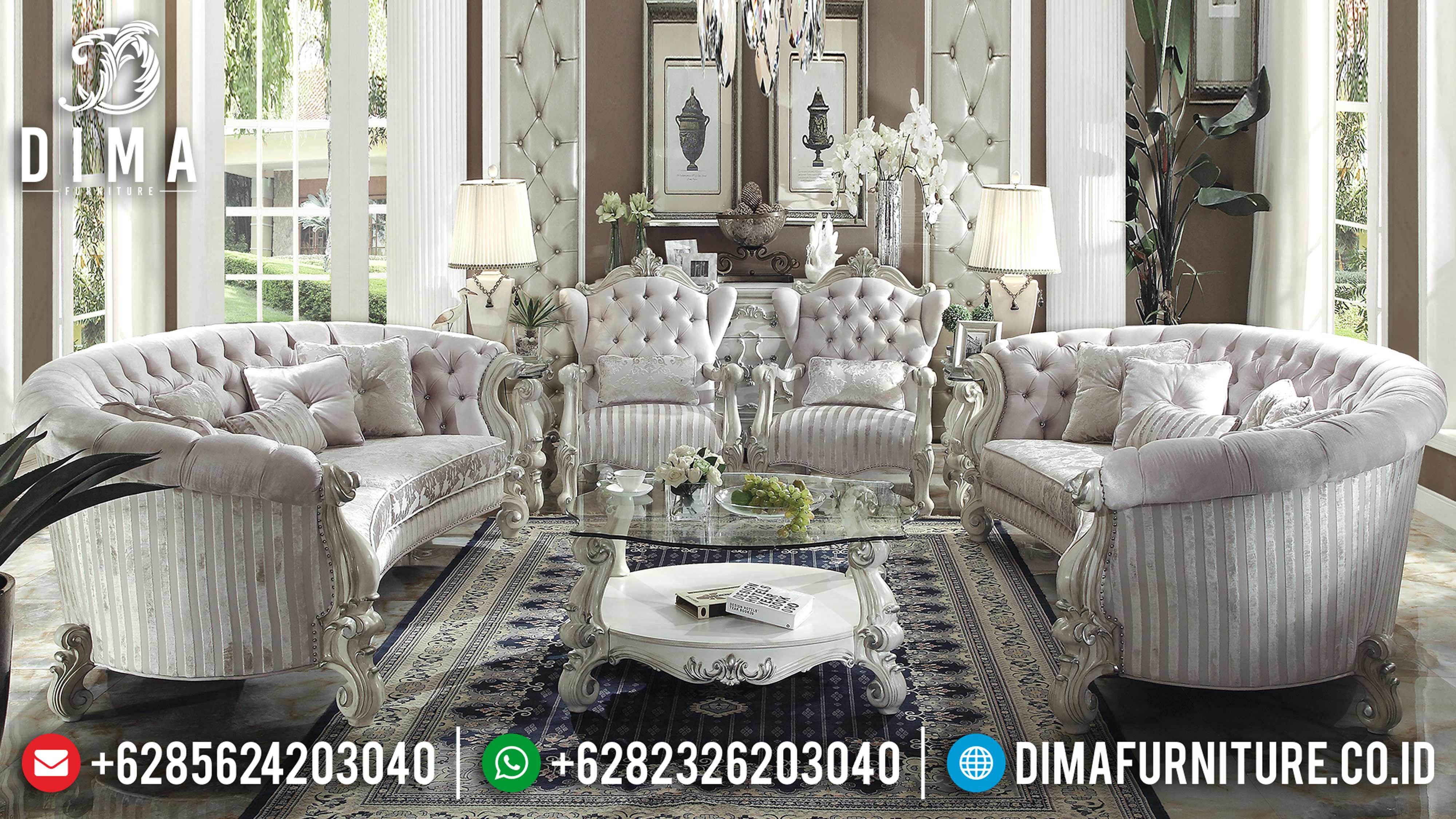 Jual Classic Furniture Set Sofa Tamu Jepara Mewah Terbaru Vendome DF-0579
