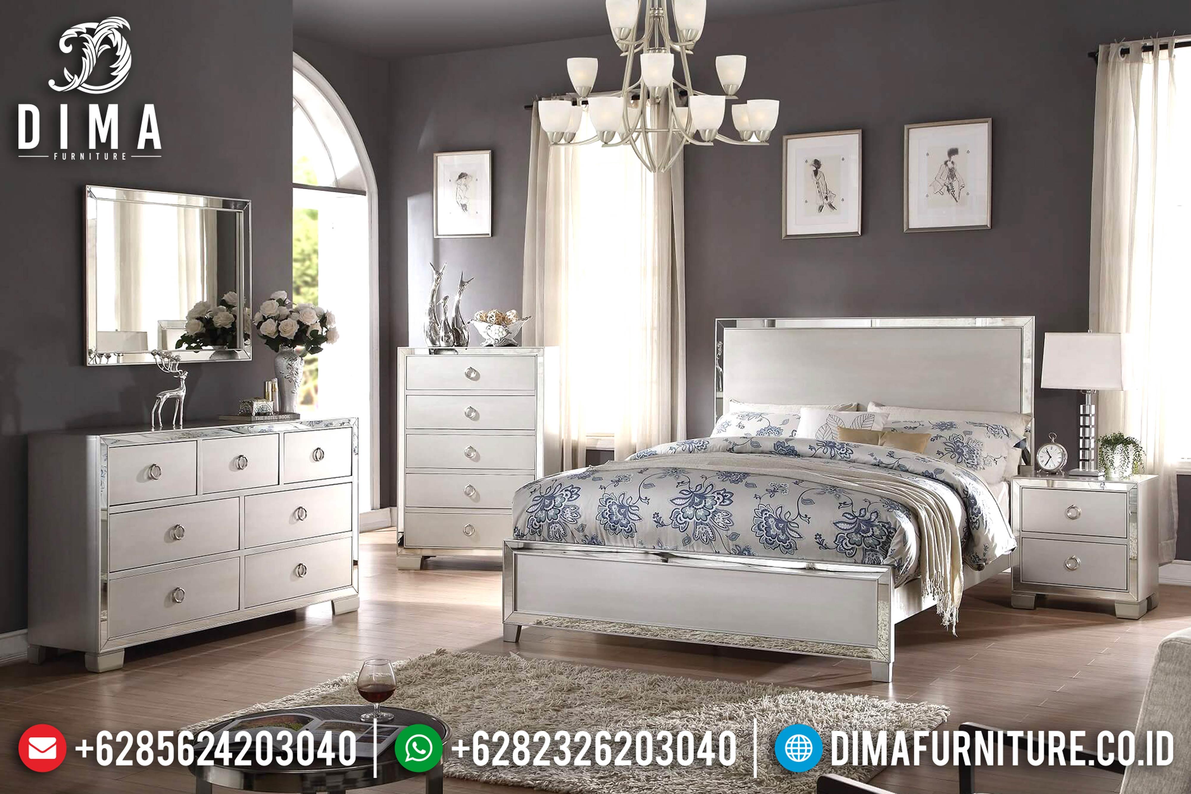 Tempat Tidur Minimalis Mewah, Kamar Set Minimalis, Mebel Mewah Jepara DF-0610