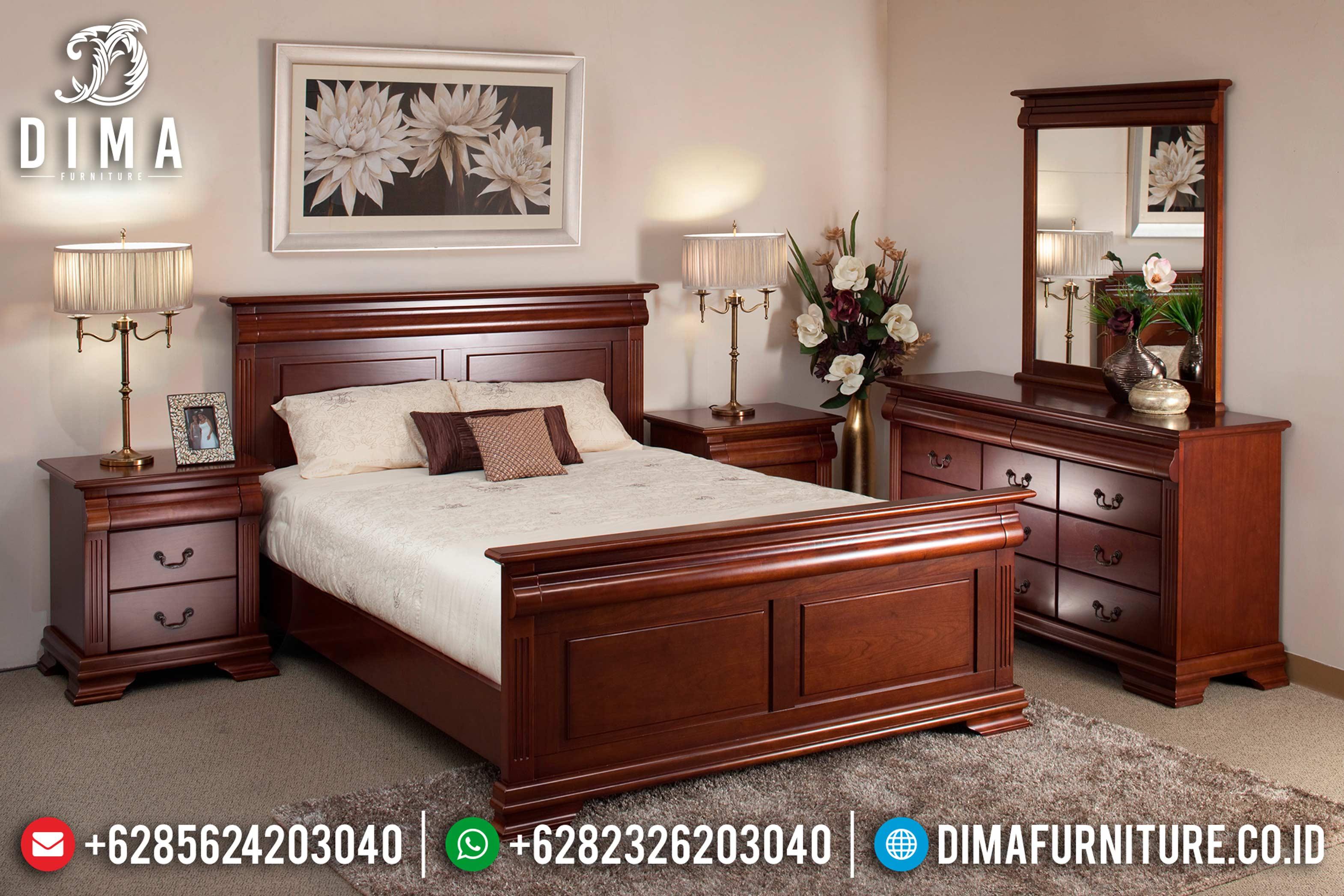Bedroom Furniture Ideas Tempat Tidur Jepara Minimalis Mewah Terbaru DF-0638