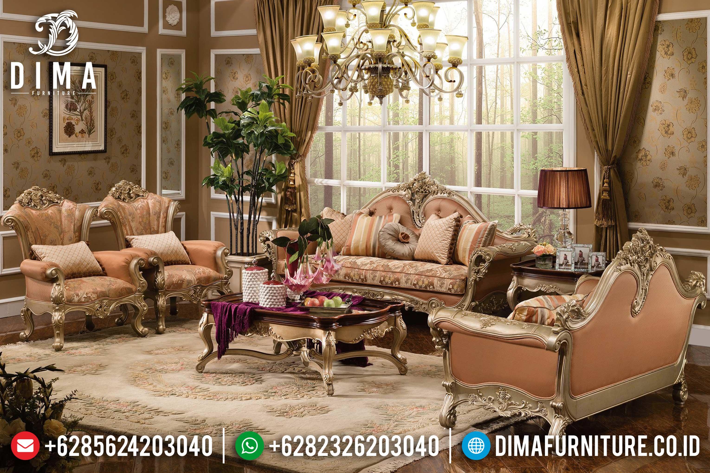 Sofa Tamu Mewah Klasik, Sofa Tamu Jepara, Kursi Ruang Tamu Terbaru DF-0632