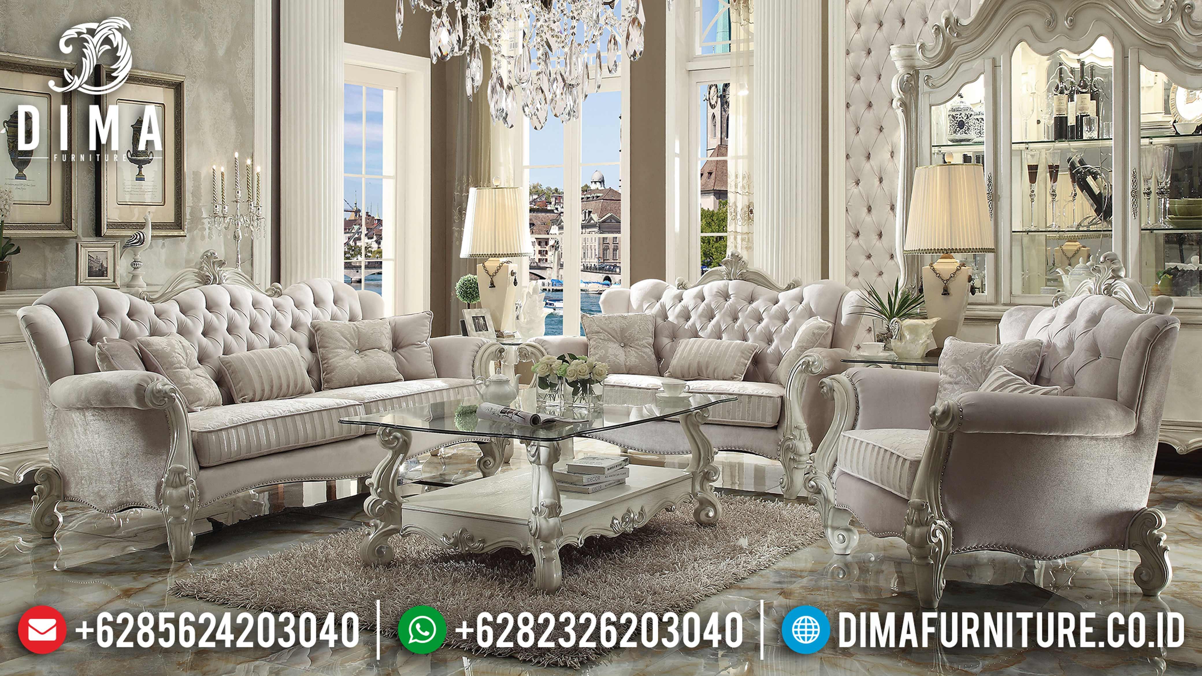 Mebel Klasik Murah, Sofa Tamu Jepara, Sofa Ruang Tamu Mewah DF-0654