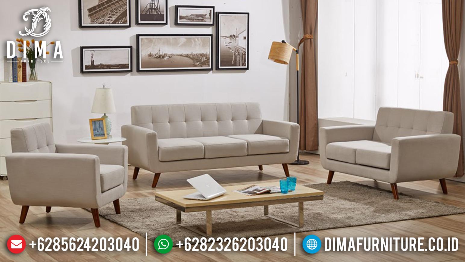Sofa Tamu Minimalis Jepara, Sofa Modern Murah, Mebel Jepara Terbaru DF-0656 Gambar 1