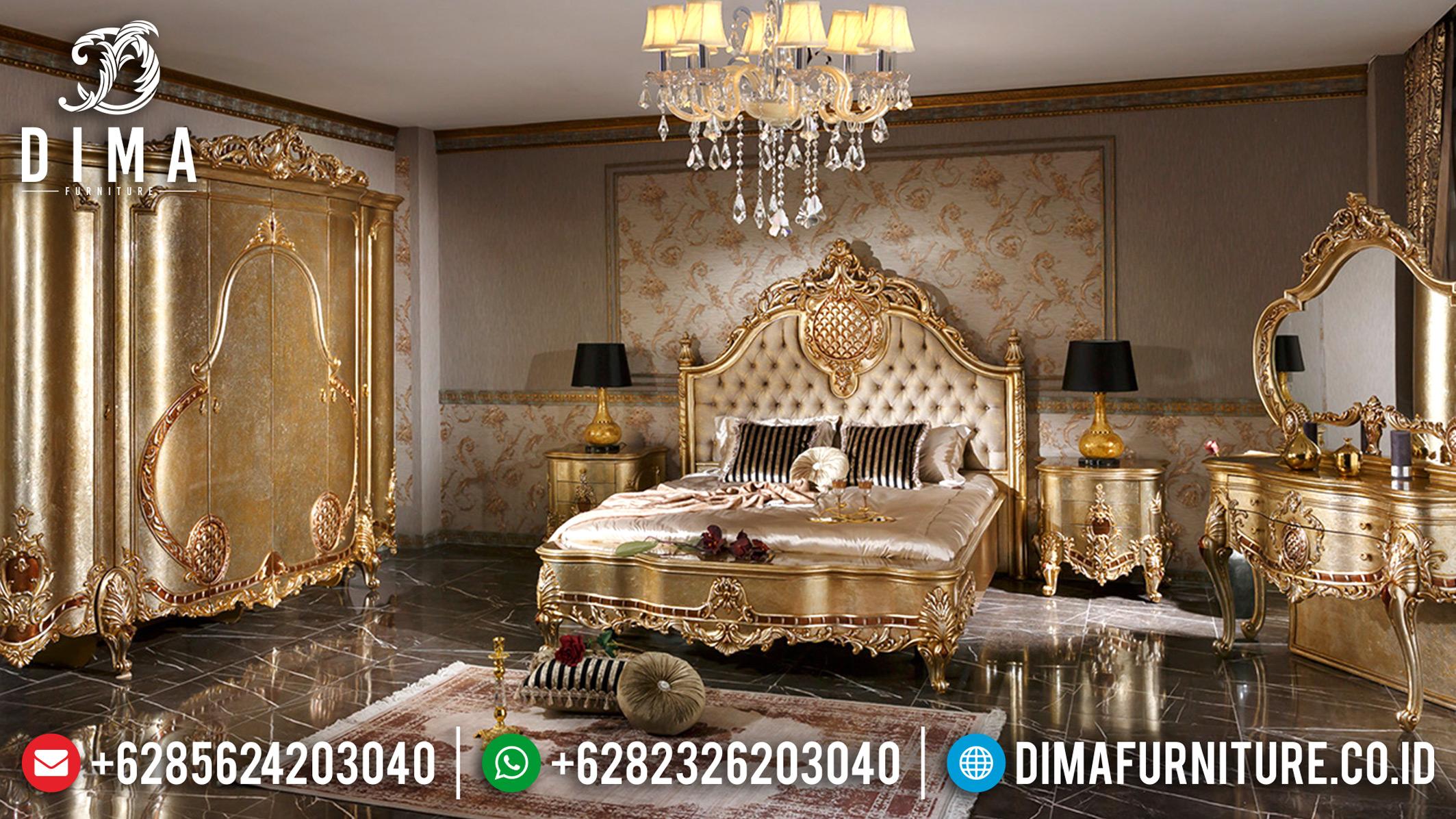 Exclusive Furniture Tempat Tidur Mewah Klasik Kamar Set Jepara DF-0680