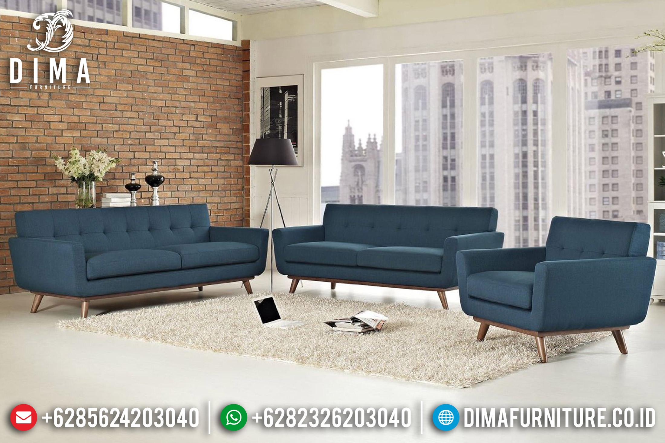 Set Kursi Sofa Tamu Minimalis Jepara Terbaru Warna Bisa Custom DF-0664