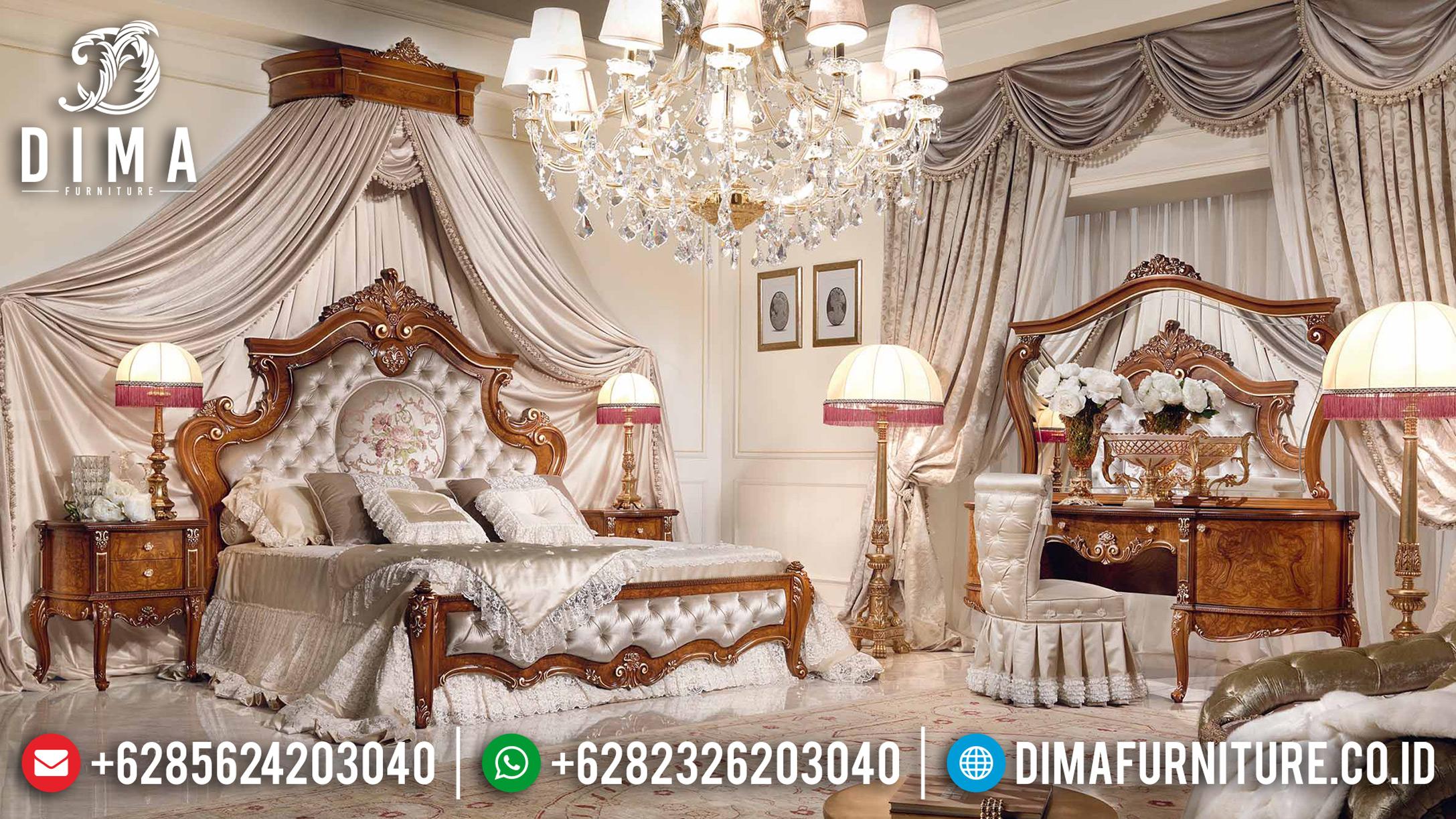 Tempat Tidur Mewah Jati, Kamar Set Jepara, Mebel Jepara Berkualitas DF-0681