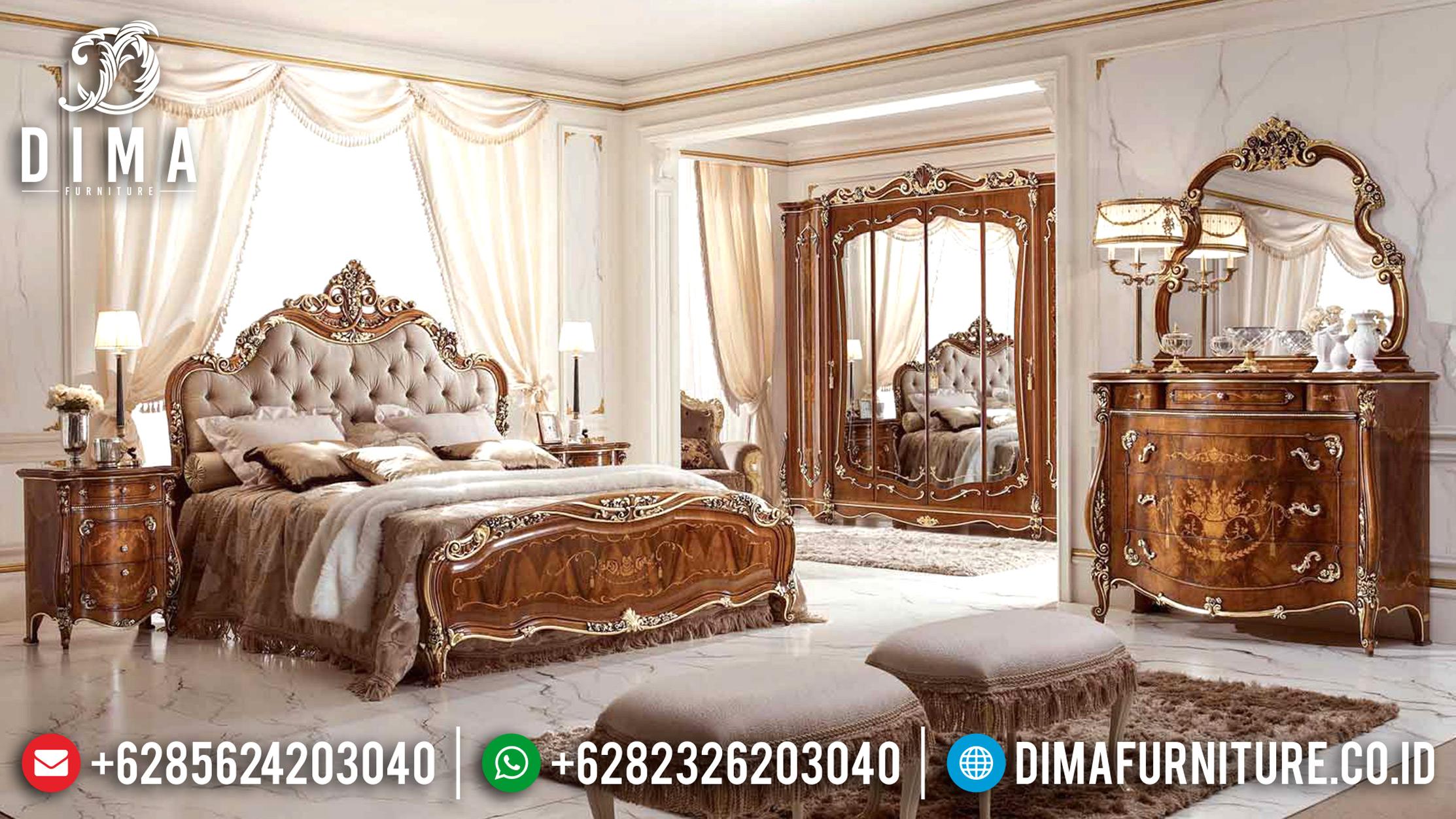 20+ Tempat Tidur Jepara Mewah Dan Minimalis Pilihan Tahun 2019 013 Dima Furniture Jepara