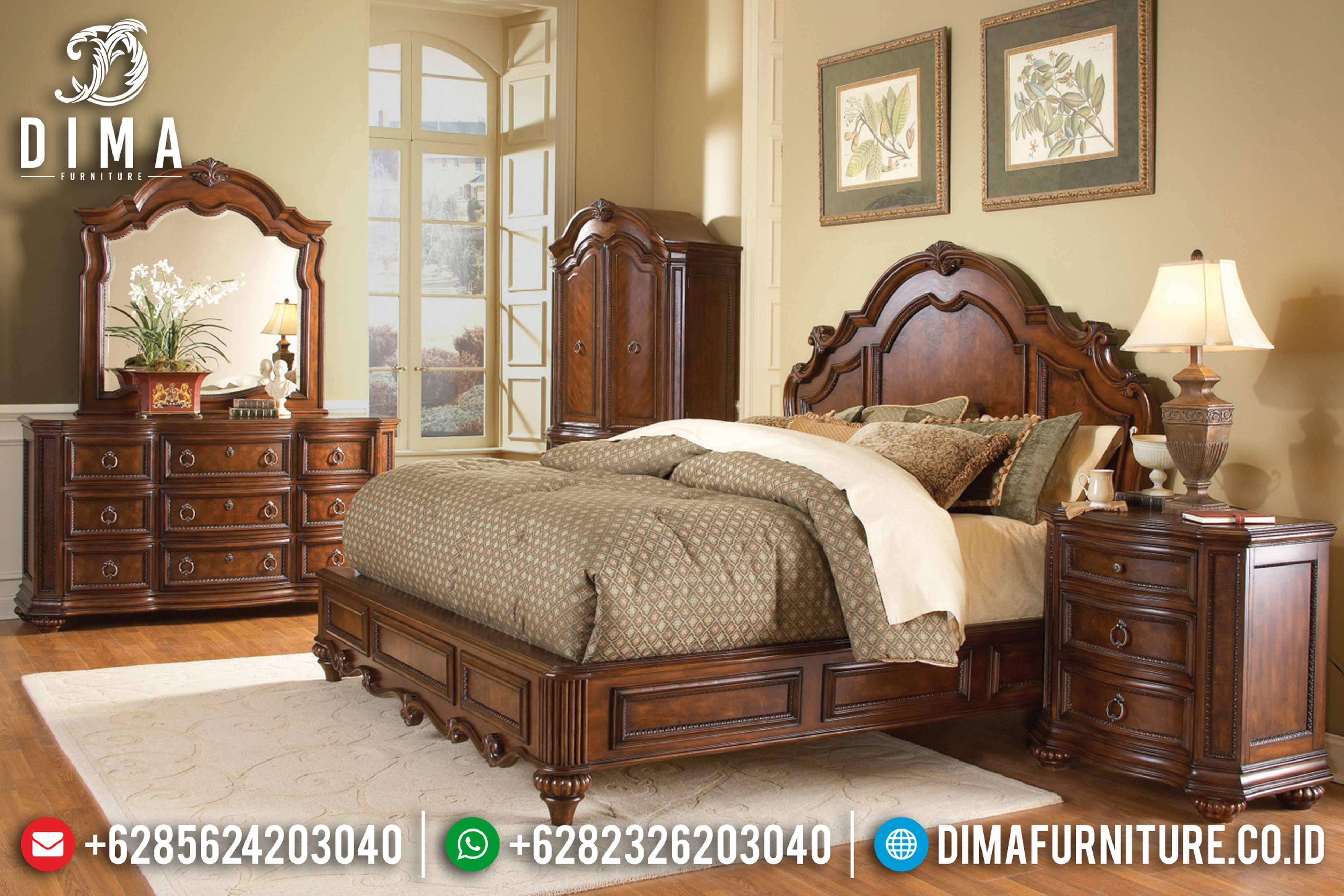 20+ Tempat Tidur Jepara Mewah Dan Minimalis Pilihan Tahun 2019 018 Dima Furniture Jepara