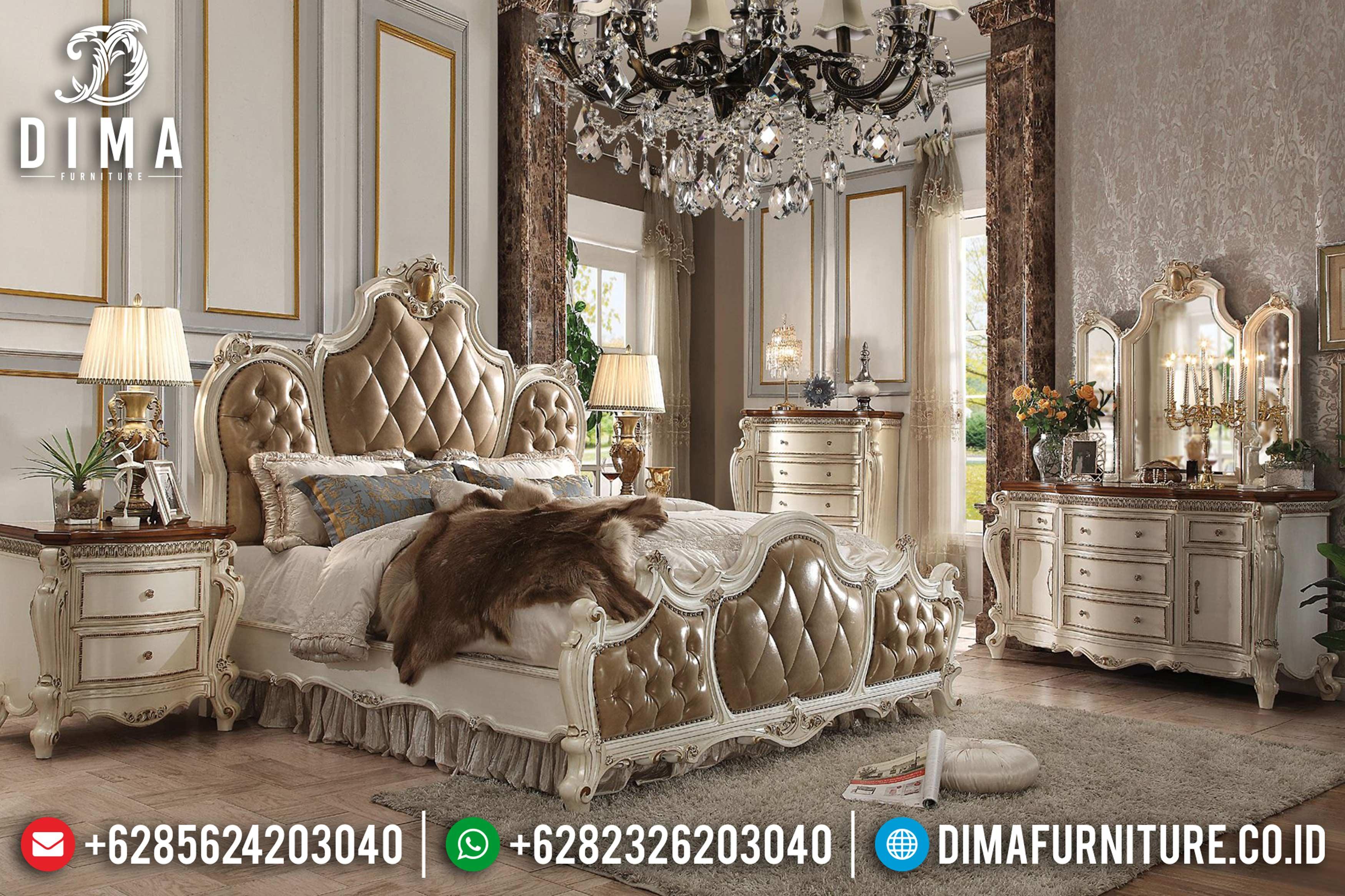 20+ Tempat Tidur Jepara Mewah Dan Minimalis Pilihan Tahun 2019 021 Dima Furniture Jepara