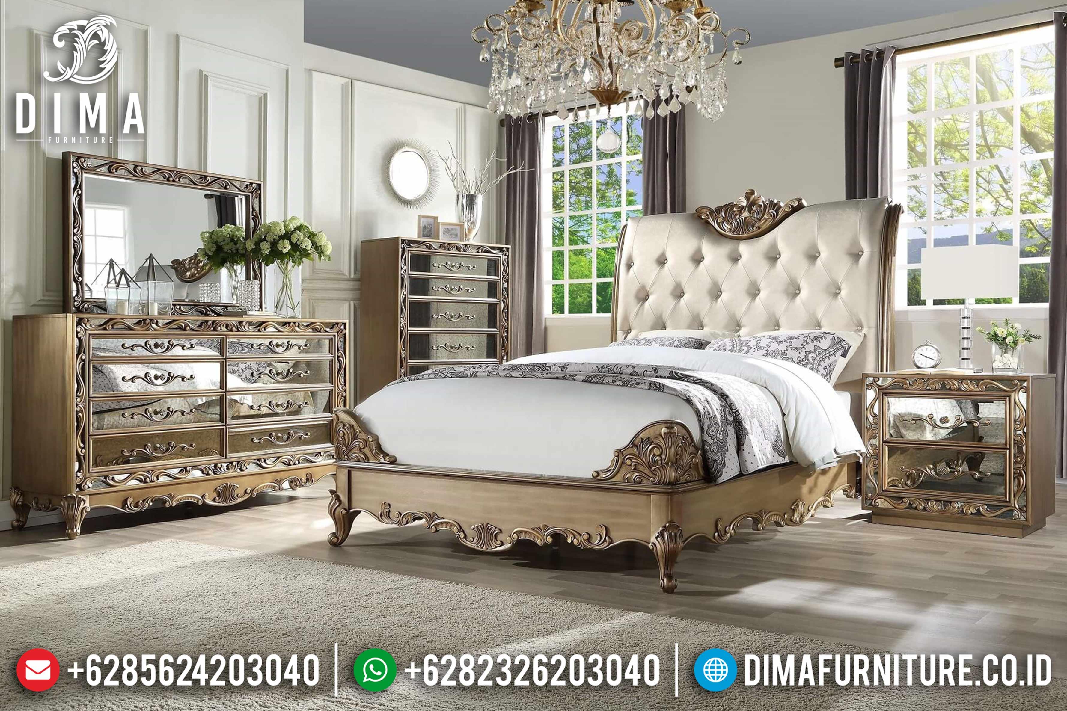 20+ Tempat Tidur Jepara Mewah Dan Minimalis Pilihan Tahun 2019 022 Dima Furniture Jepara