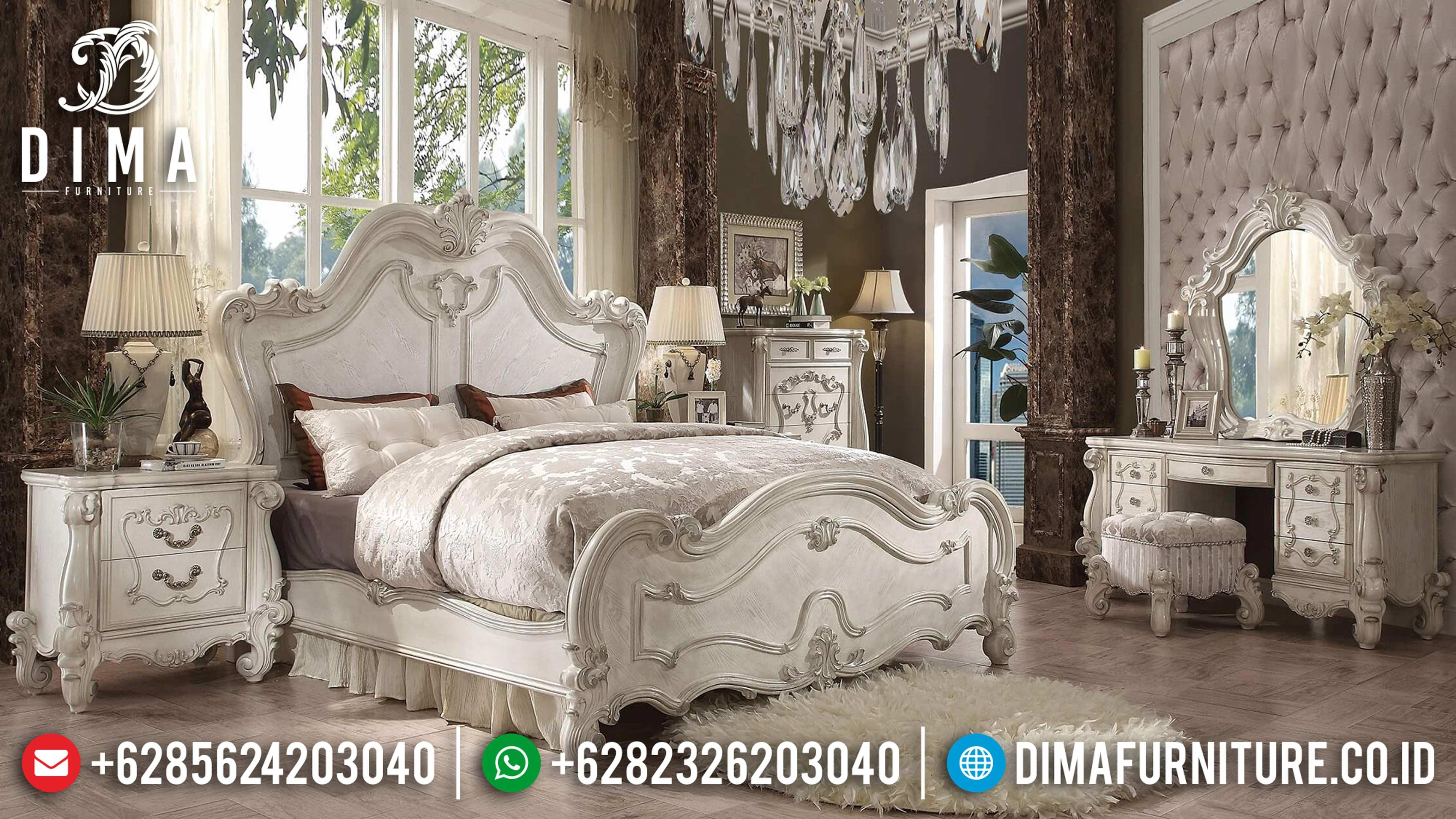 20+ Tempat Tidur Jepara Mewah Dan Minimalis Pilihan Tahun 2019 024 Dima Furniture Jepara