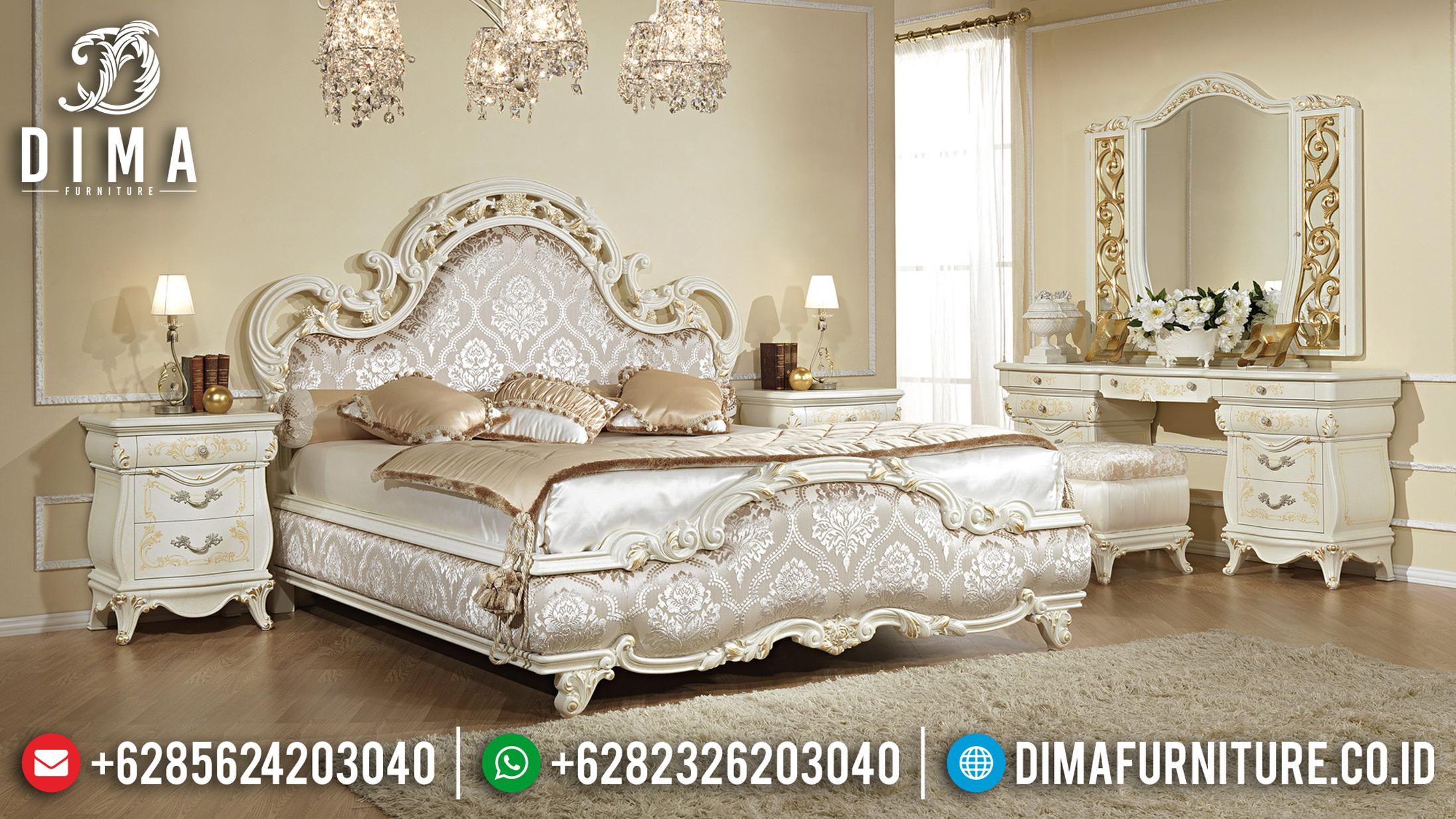 20+ Tempat Tidur Jepara Mewah Dan Minimalis Pilihan Tahun 2019 028 Dima Furniture Jepara