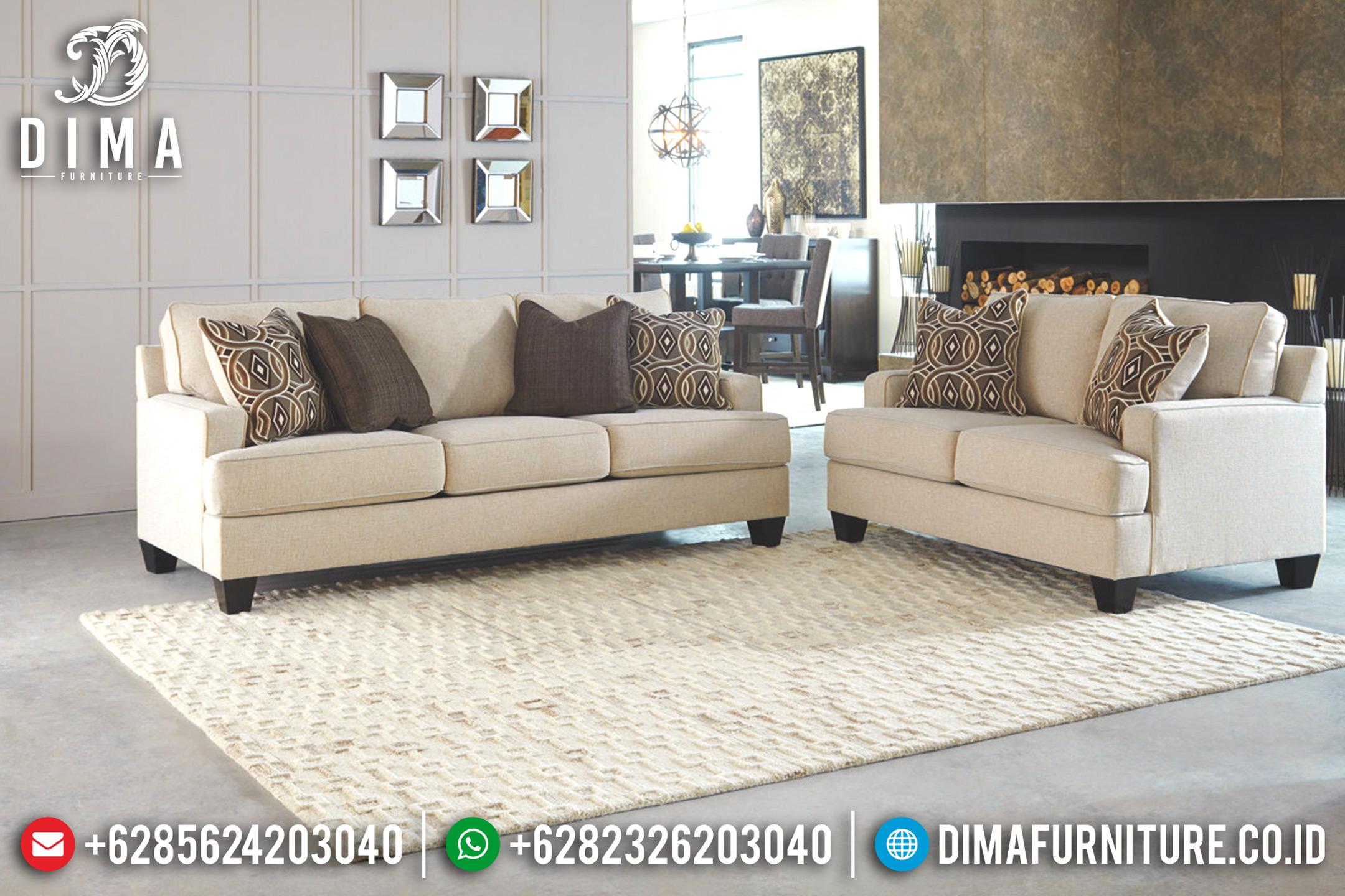 Sofa Tamu Minimalis Jepara, Furniture Indonesia, Sofa Mewah Terbaru DF-0692 Gambar 1