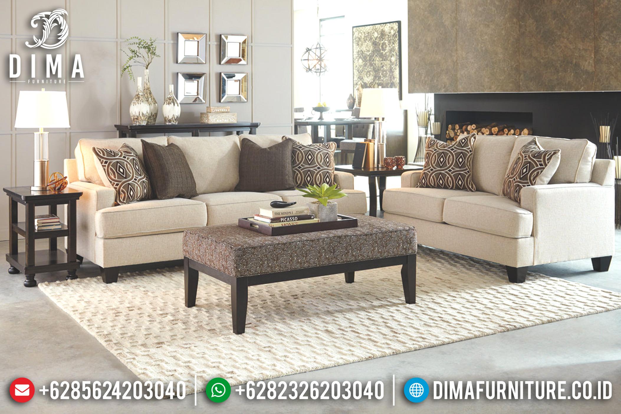 Sofa Tamu Minimalis Jepara, Furniture Indonesia, Sofa Mewah Terbaru DF-0692
