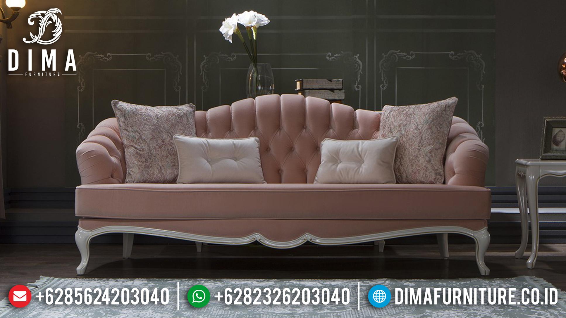 Mebel Murah Sofa Tamu Minimalis Jepara 3 2 1 Meja Terbaru DF-0748