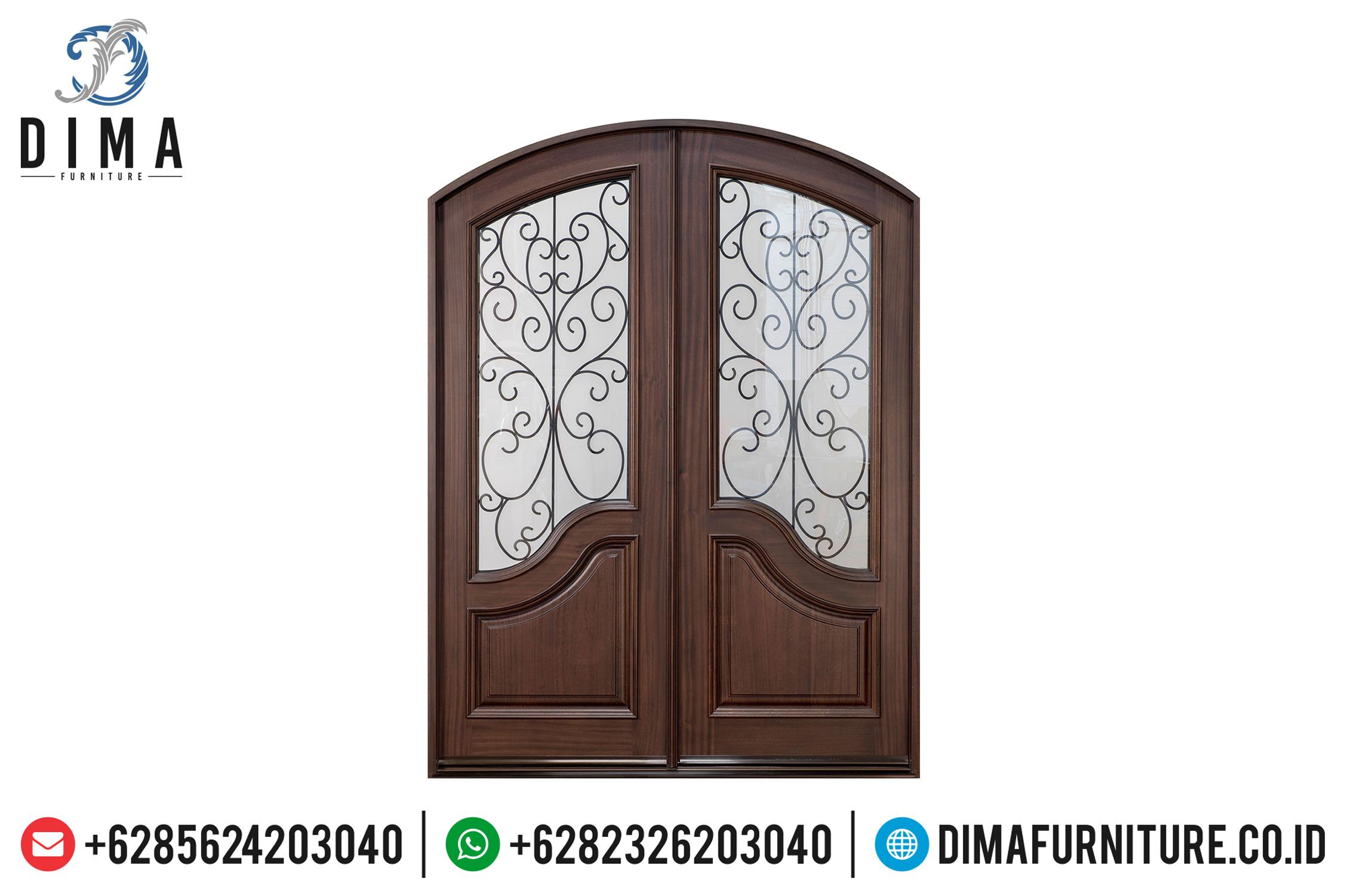 Pintu Rumah Jepara Mewah, Kusen Pintu Jati, Jual Pintu Rumah Jati DF-0740