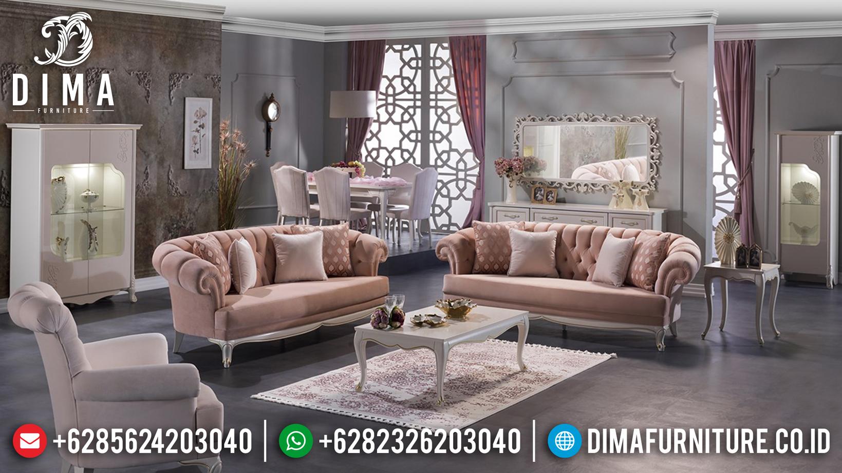 Set Sofa Tamu Minimalis Jepara Harga Murah Berkualitas Terbaru DF-0749 Gambar 1