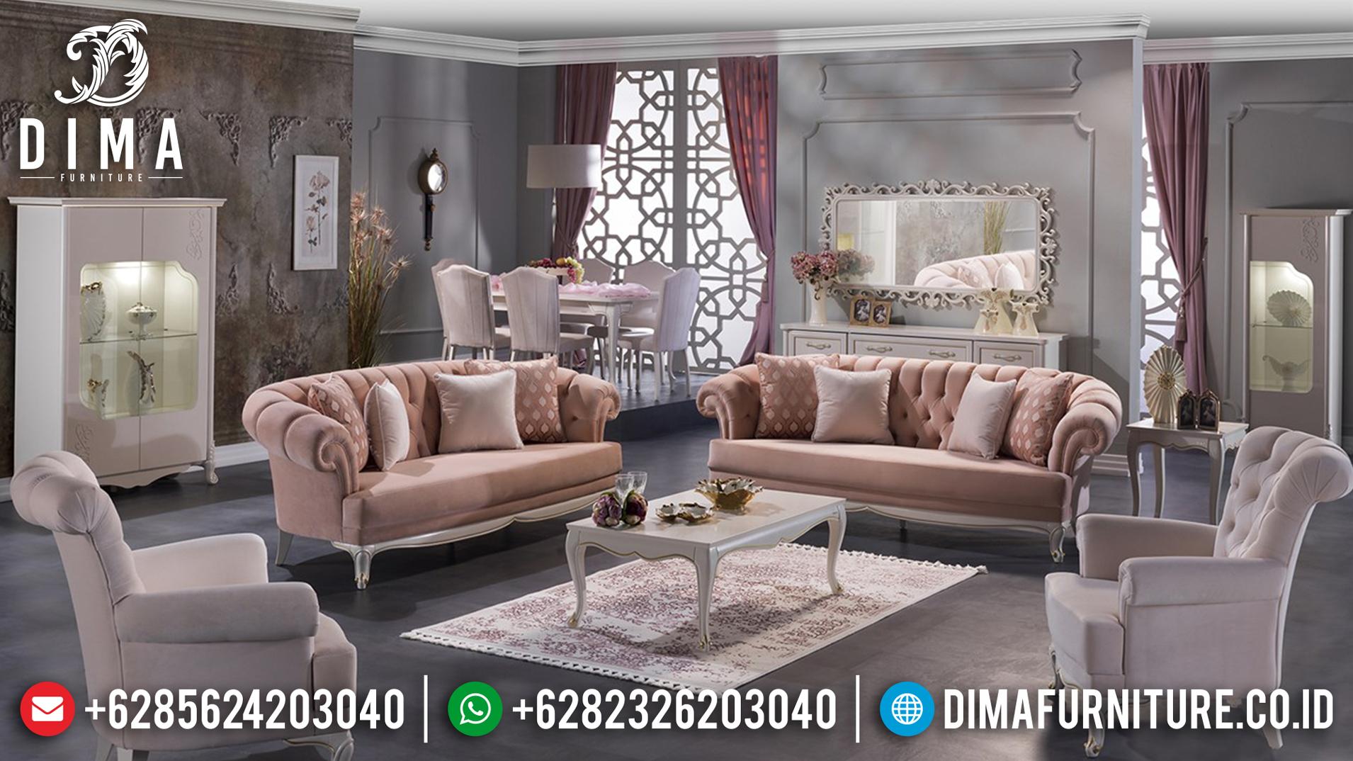 Set Sofa Tamu Minimalis Jepara Harga Murah Berkualitas Terbaru DF-0749