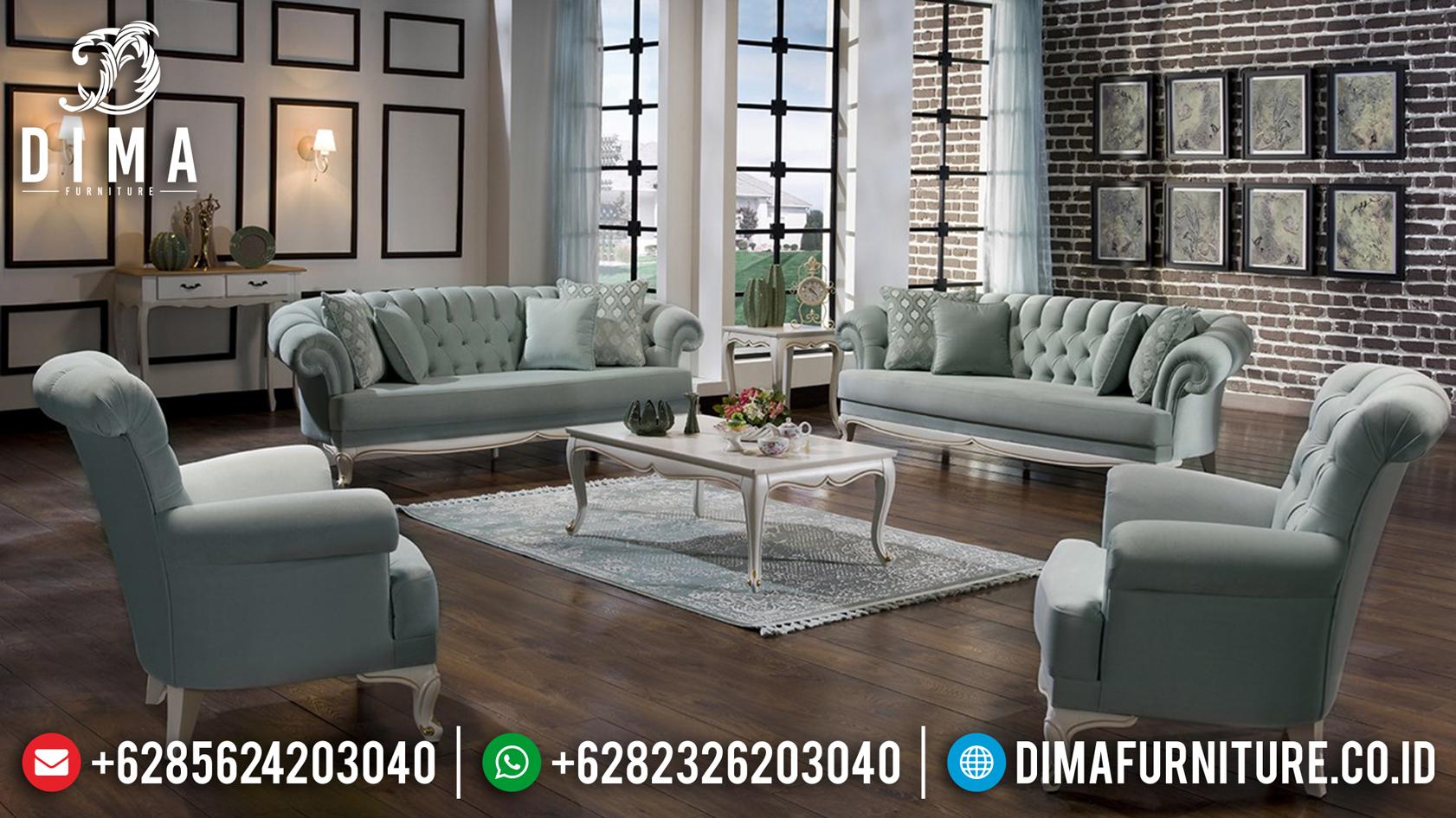 Loveseat Sofa Tamu Minimalis Jepara Model Terbaru Vanessa DF-0750 Gambar 1