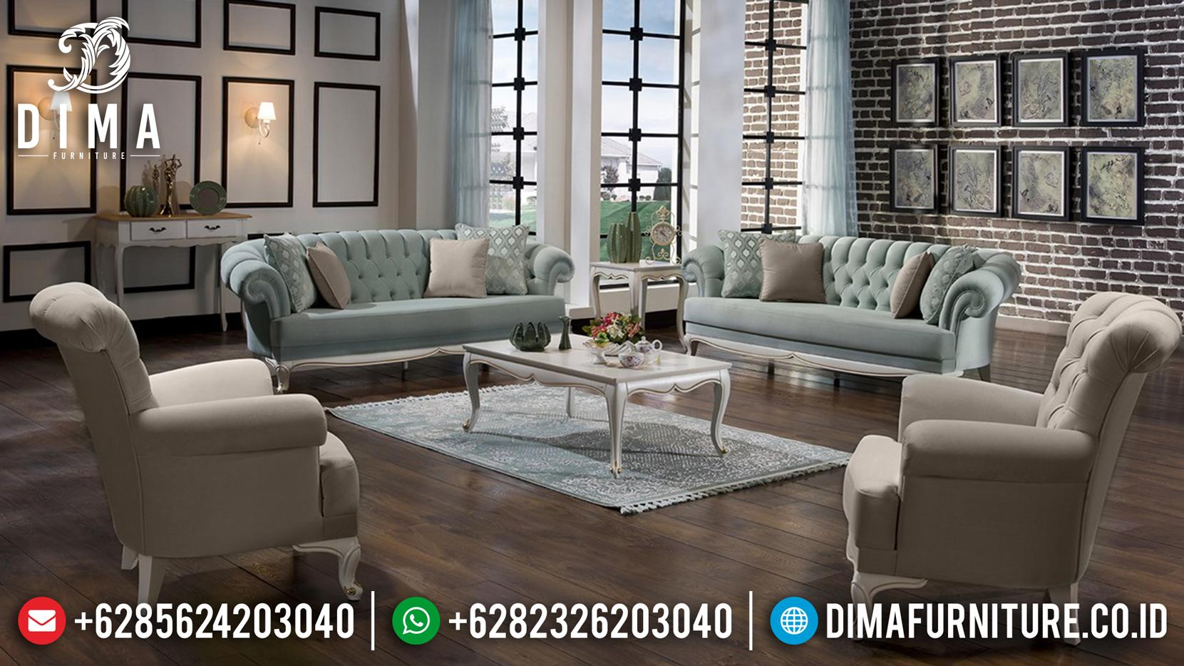 Loveseat Sofa Tamu Minimalis Jepara Model Terbaru Vanessa DF-0750 Gambar 2