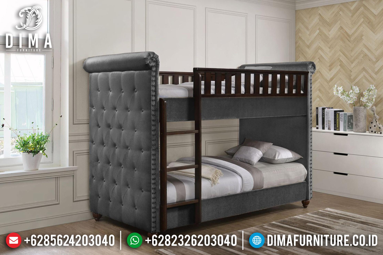 Tempat Tidur Anak Tingkat, Tempat Tidur Terbaru, Kamar Anak Minimalis DF-0763
