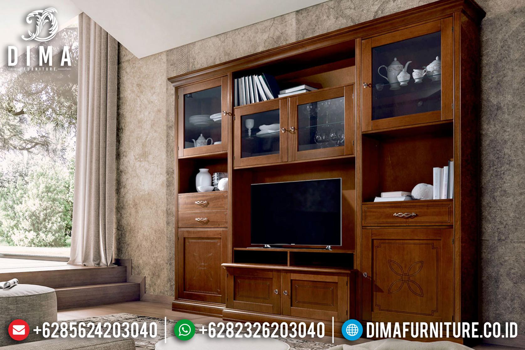 Bufet TV Minimalis Jepara, Lemari Hias Jati, Meja TV Jati Jepara DF-0779