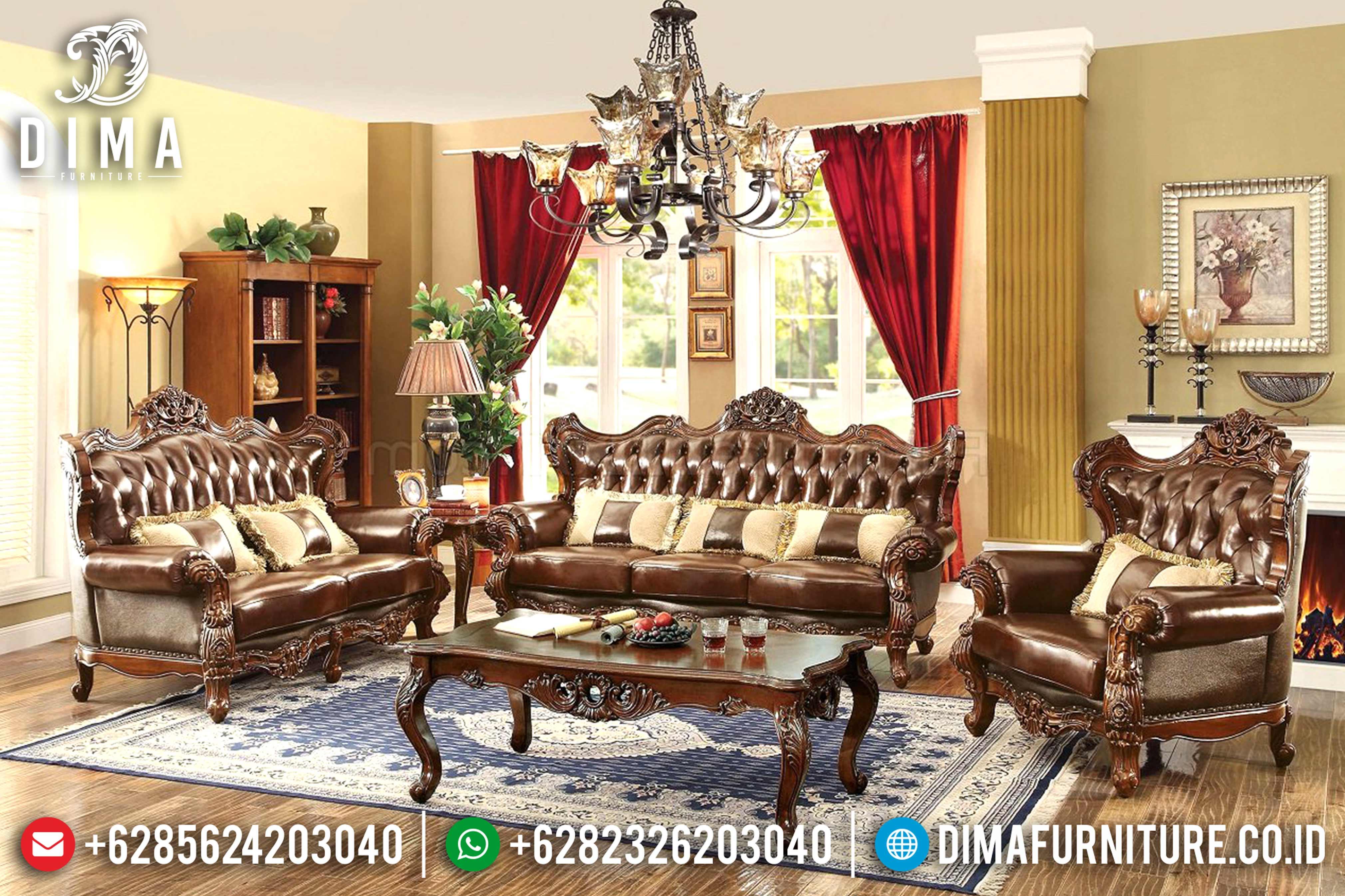 Set Kursi Sofa Tamu Jepara Fitri Mewah DF-0798