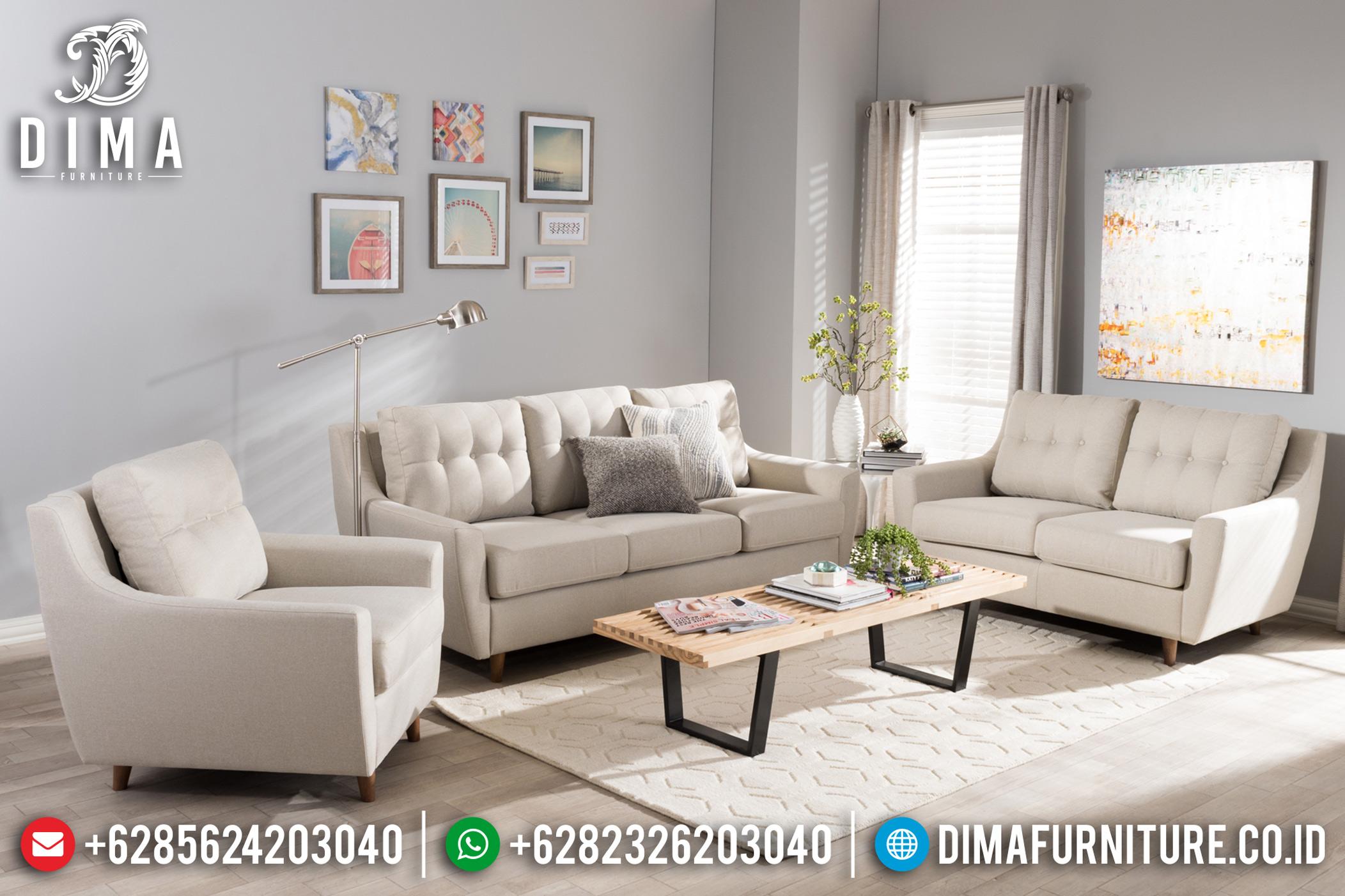 Jual Set Kursi Sofa Tamu Minimalis Jepara Mewah Model Terbaru DF-0843