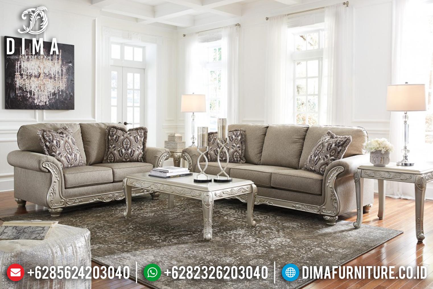 Jual Sofa Tamu Mewah Jepara, Kursi Tamu Murah, Sofa Ruang Tamu Klasik DF-0831