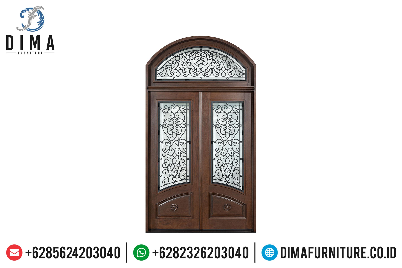 Kusen Pintu Rumah Jati, Pintu Jati Jepara, Pintu Rumah Mewah Jepara DF-0823