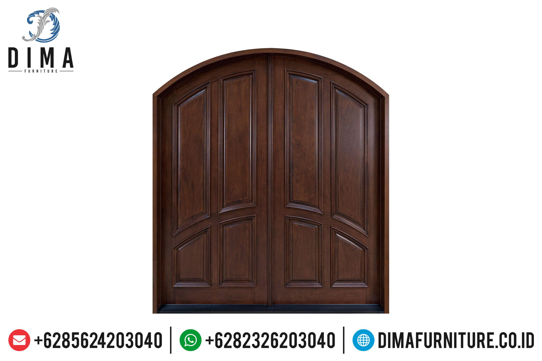 Pintu Rumah Utama Jati, Pintu Rumah Mewah, Kusen Pintu Jati Jepara DF-0849