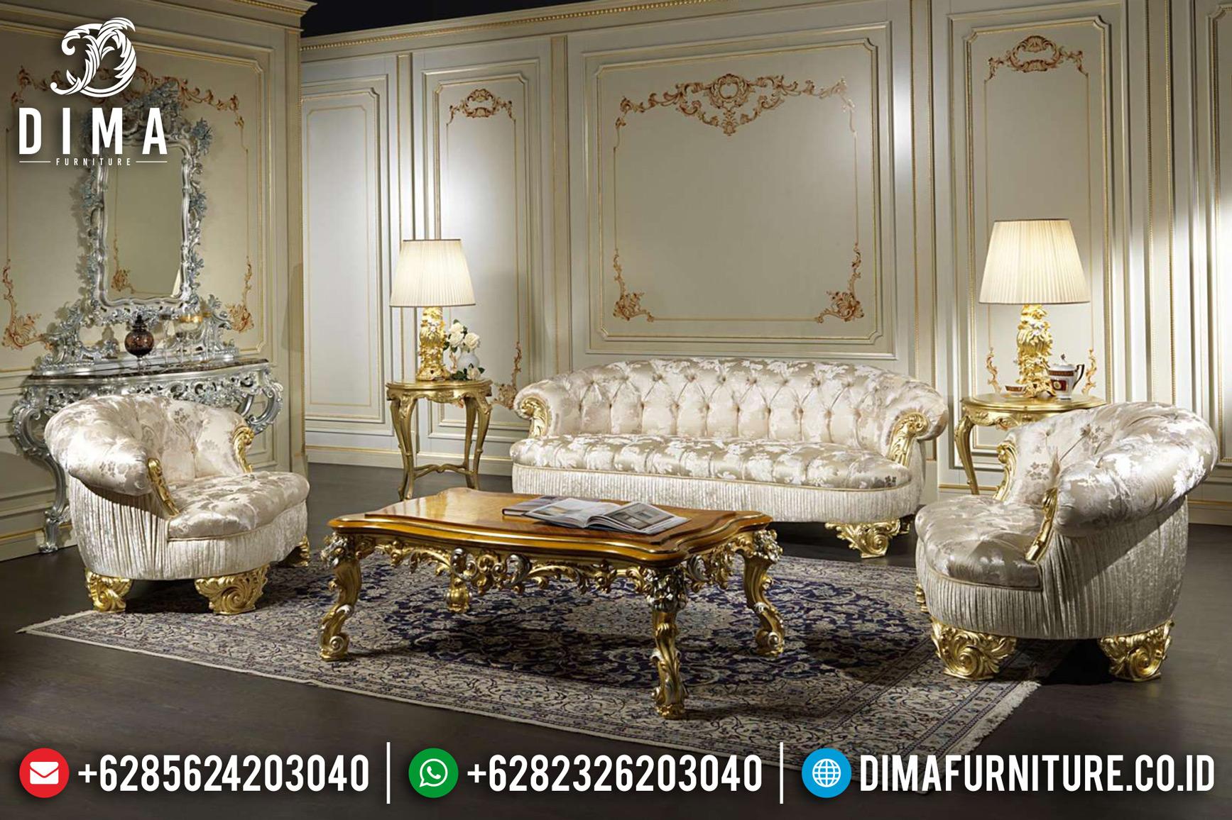 Sofa Ruang Tamu Mewah, Sofa Tamu Jepara Terbaru, Kursi Ukir Jepara DF-0832