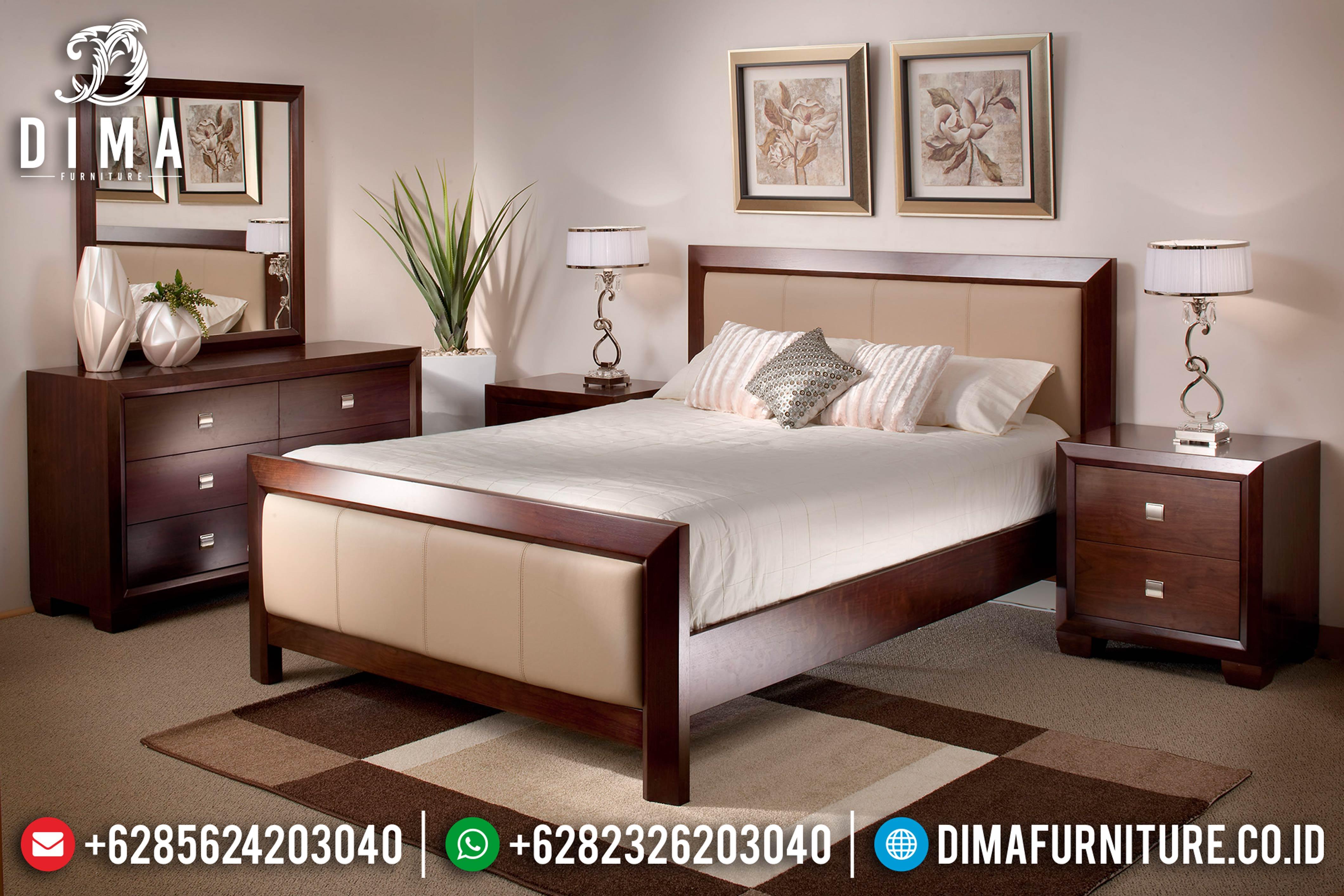 Kamar Set Tempat Tidur Jepara Minimalis Terbaru 2019 DF-0897