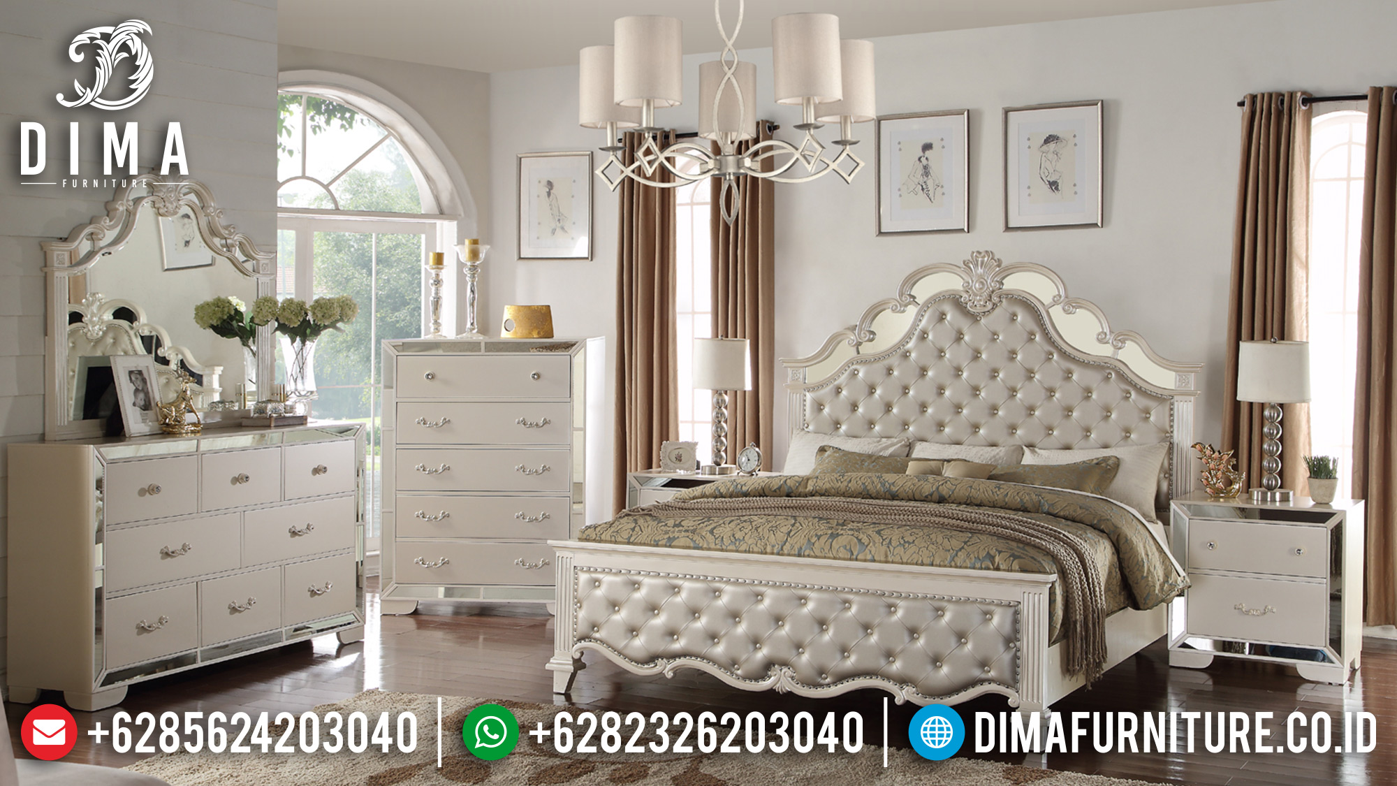 Model Minimalis Tempat Tidur Jepara 2019 DF-0918