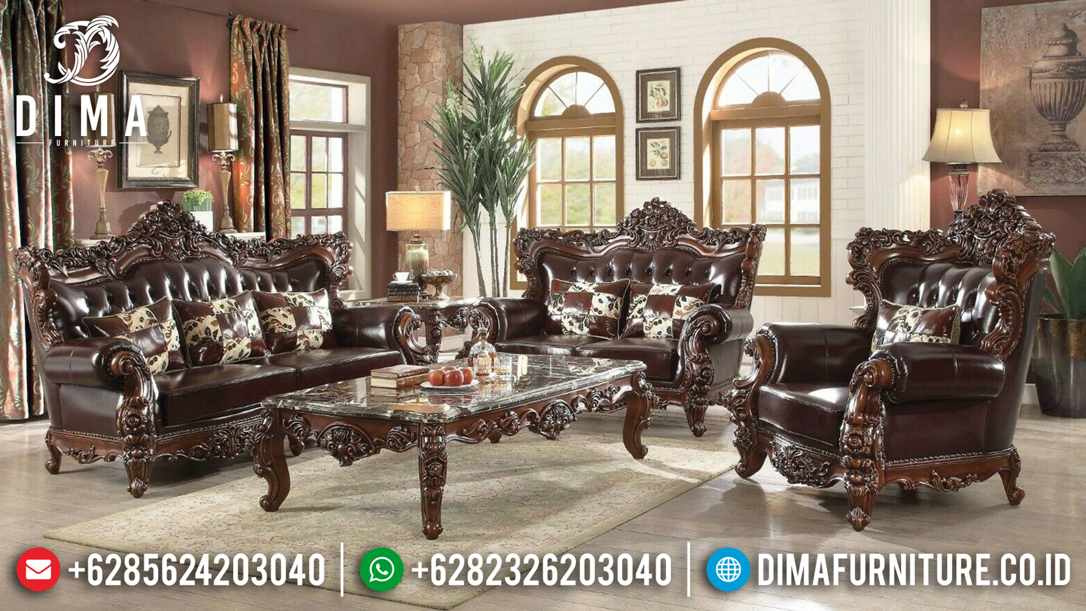 Model Sofa Tamu Jepara 2019-2020 006 Dima Furniture Jepara