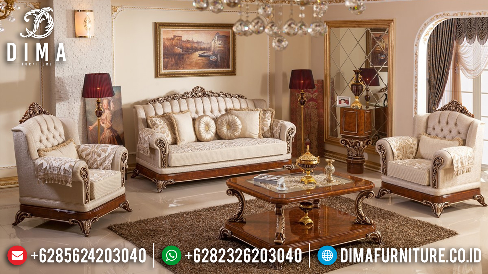 Model Sofa Tamu Jepara 2019-2020 013 Dima Furniture Jepara