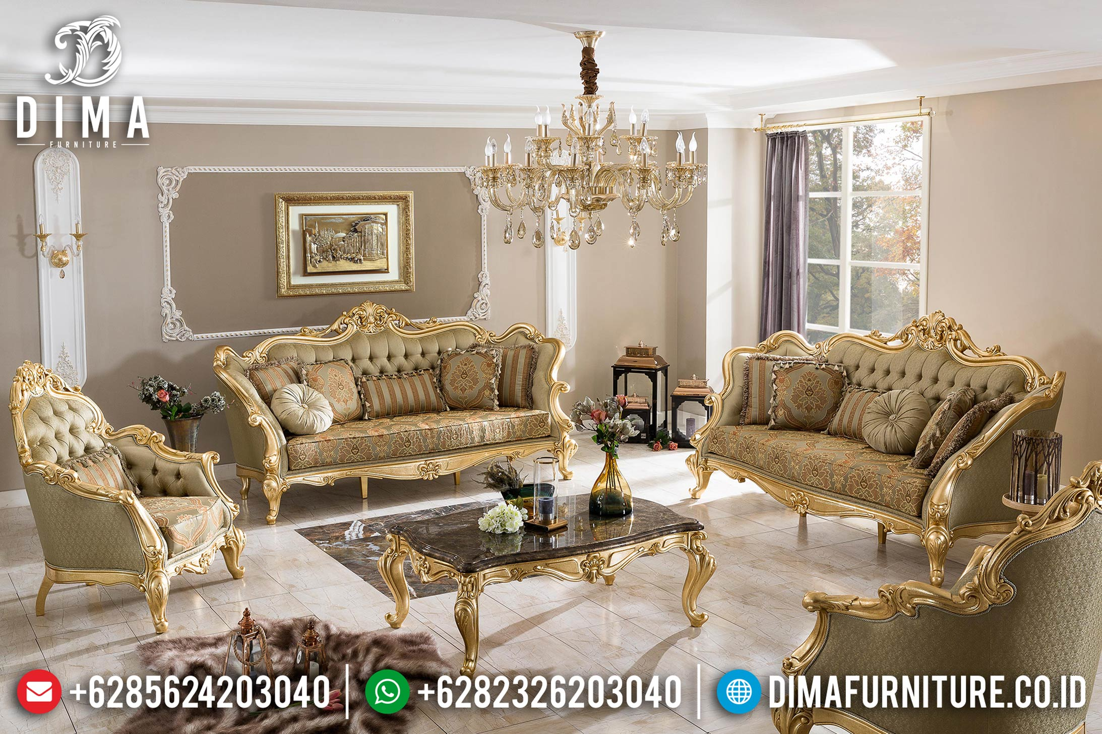 Model Sofa Tamu Jepara 2019-2020 016 Dima Furniture Jepara