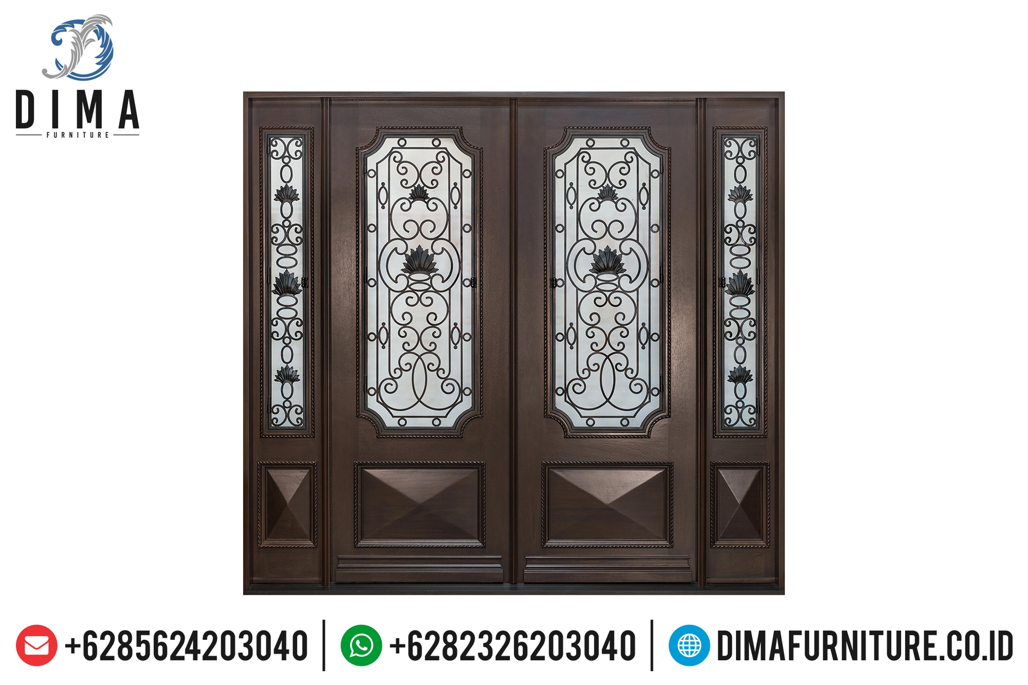 Pintu Rumah Jati Jepara, Kusen Jati TPK, Pintu Rumah Mewah DF-0886