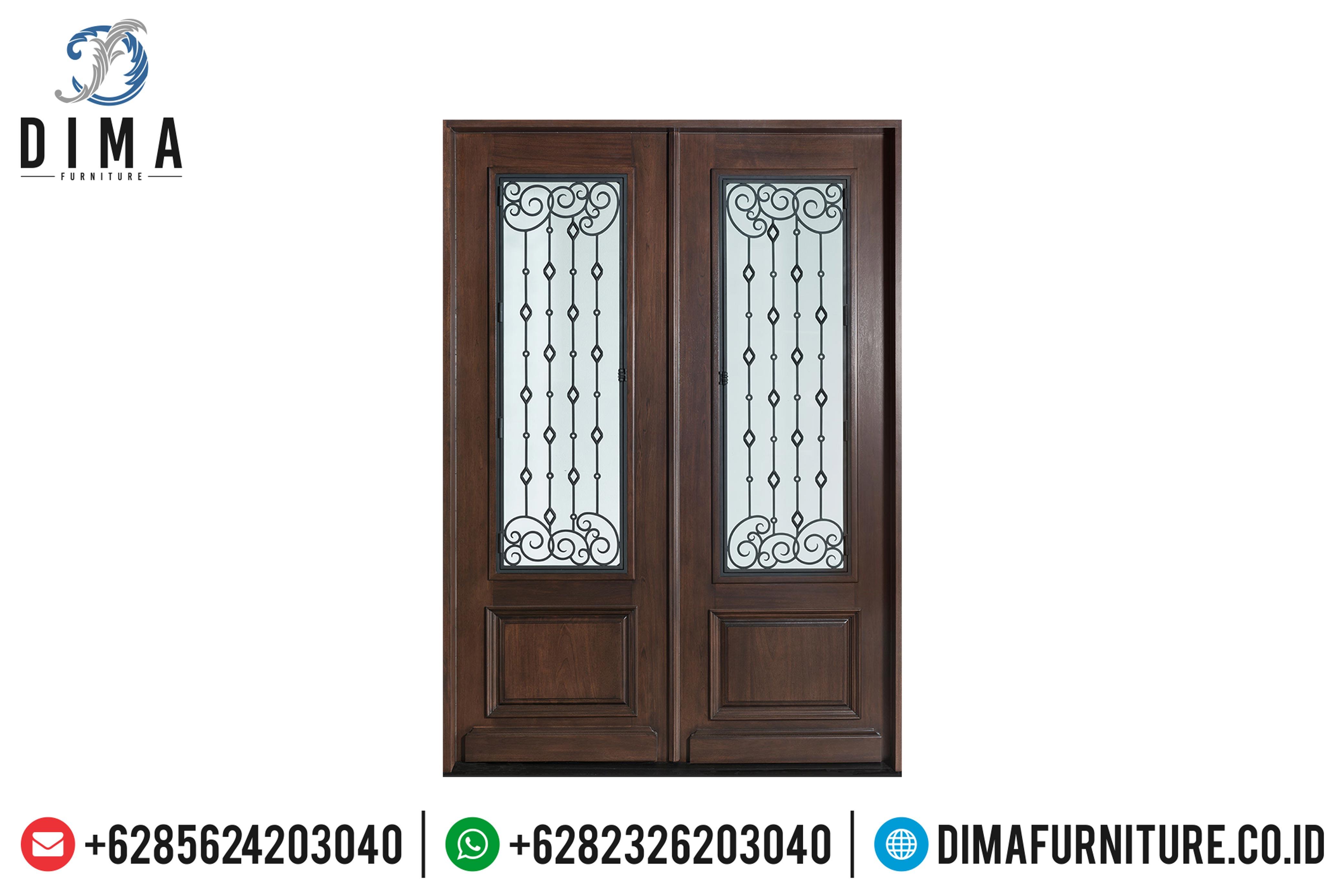 Pintu Rumah Jati Jepara, Pintu Rumah Minimalis, Kusen Jati Jepara DF-0889