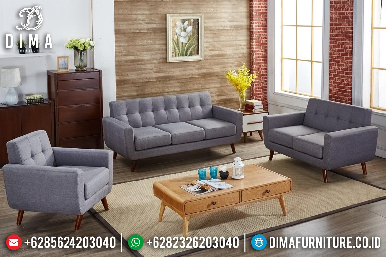 Sofa Tamu Jepara Minimalis Terbaru Vintage Retro Style DF-0872