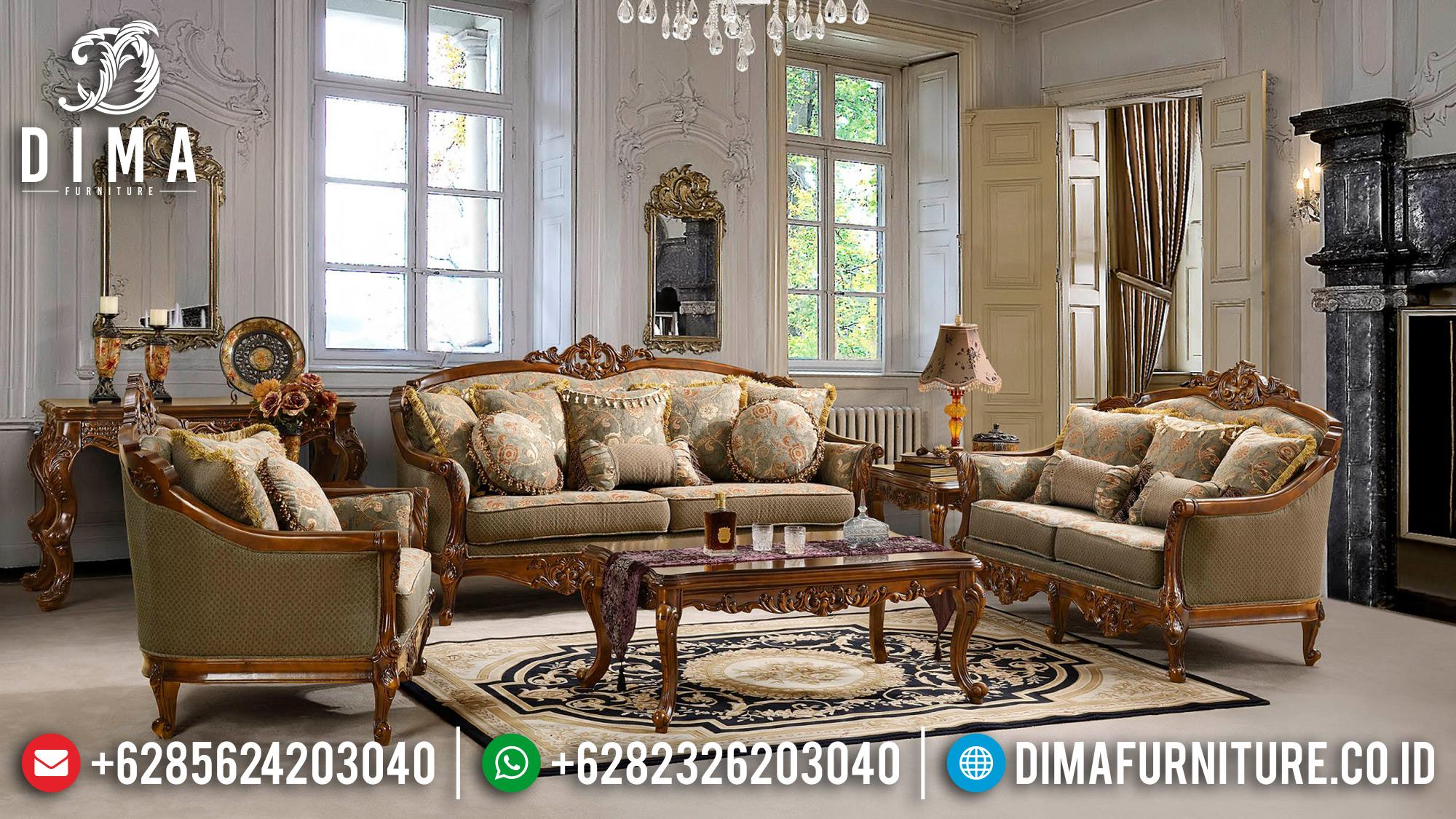 Harga Kursi Sofa Tamu Jepara Ukiran Klasik Victorian DF-0944