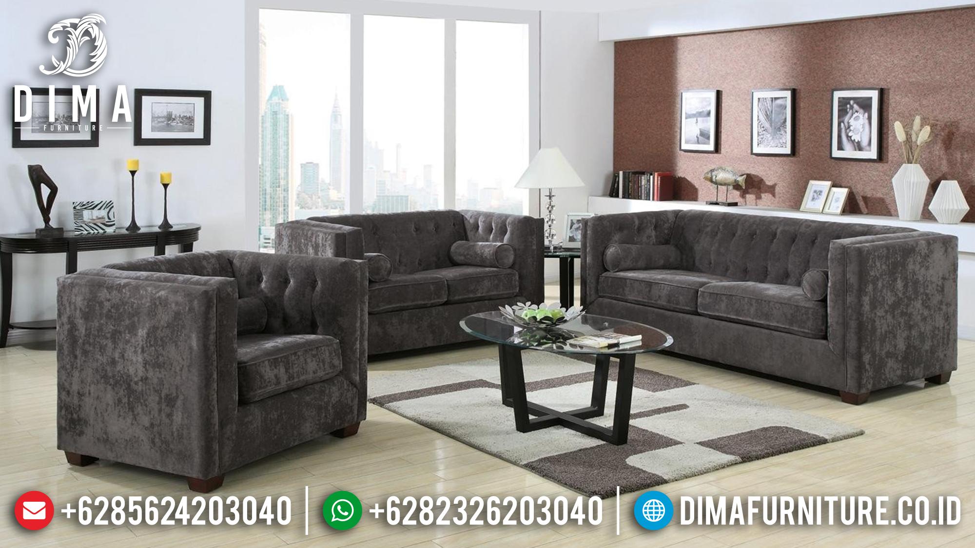 Jual Set 3 2 1 + Meja Sofa Tamu Minimalis Cantik DF-0981