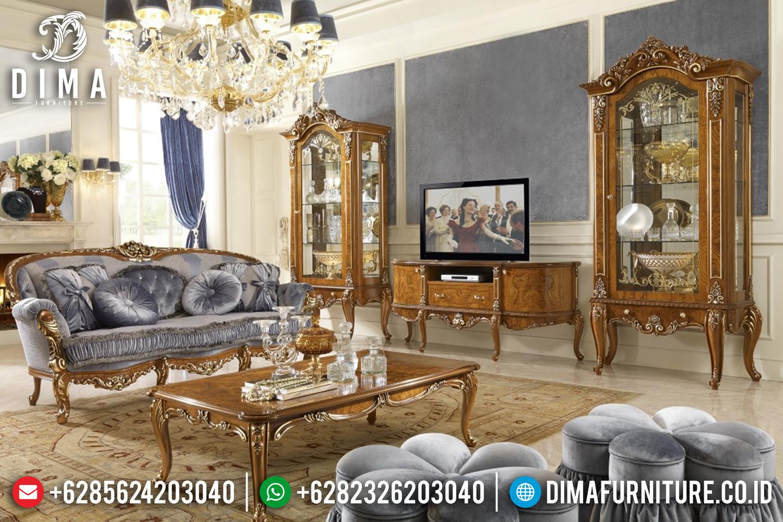 Lemari Hias Jati, Bufet TV Jepara, Model Bufet Terbaru DF-0946