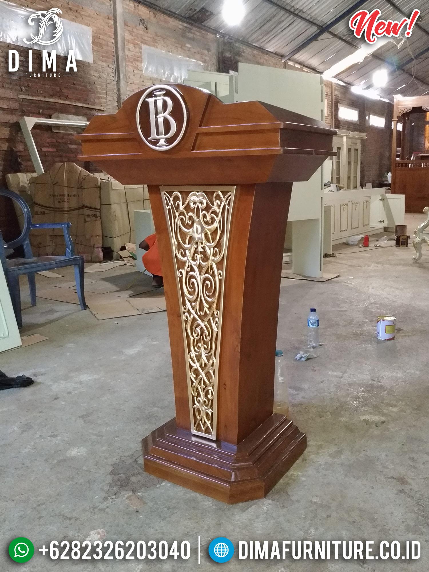 Mimbar Podium Bank BI, Mimbar Jati Jepara, Podium Presiden DF-0997 Gambar 2