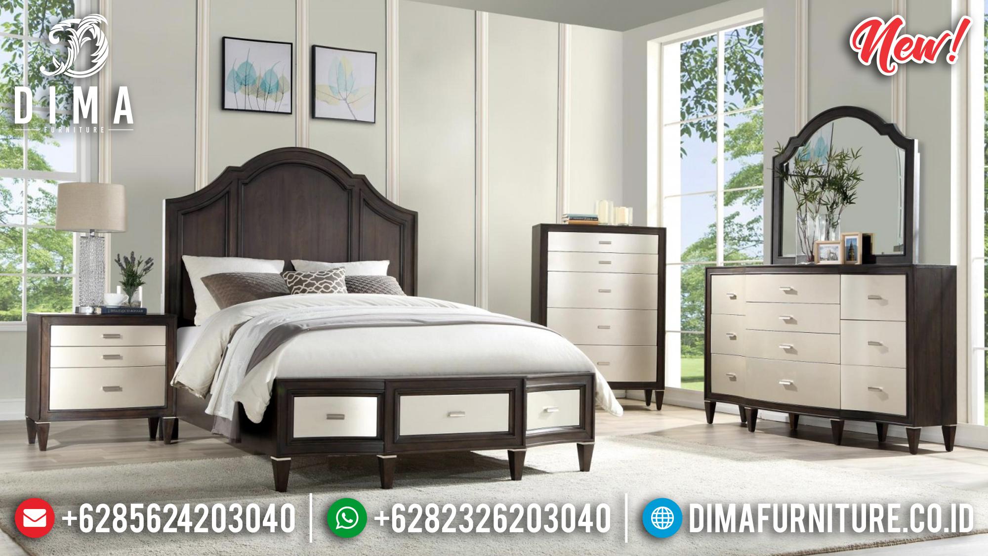 Promo! Tempat Tidur Jepara Minimalis Dua Warna DF-1013
