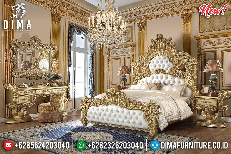 Ukiran Jepara Klasik Kamar Set Mewah Jepara Golden DF-1021