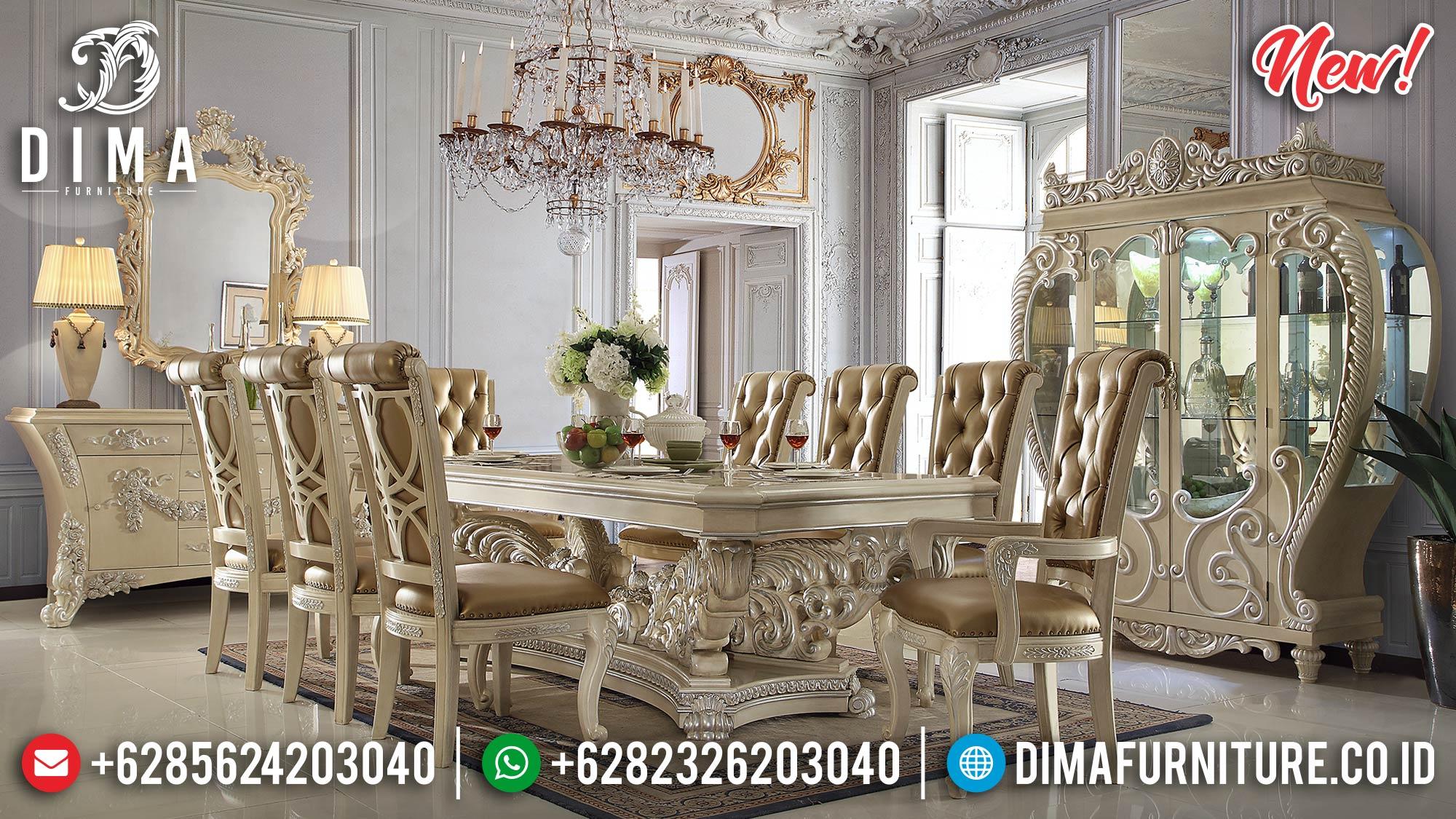 New Meja Makan Jepara Elegan Luxurious Mewah DF-1027