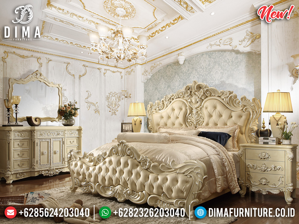 Kamar Set Mewah Putih Duco Luxurious Design DF-1114